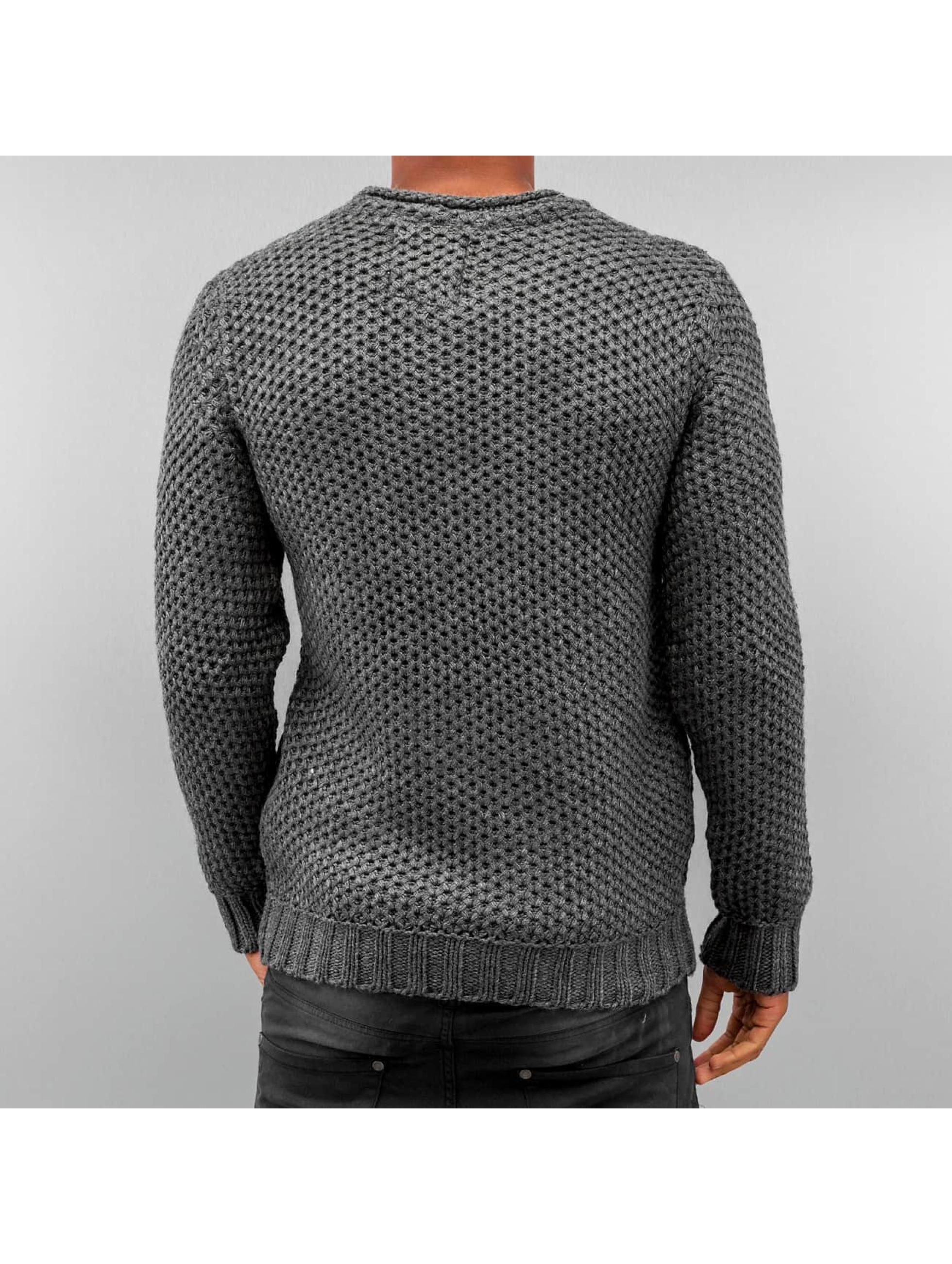 Bangastic Pullover Quit grau