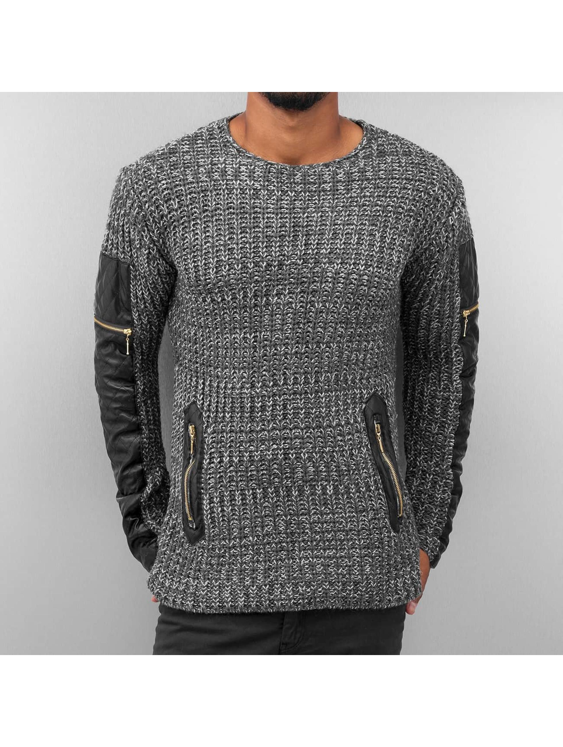 Bangastic Pullover PU grau