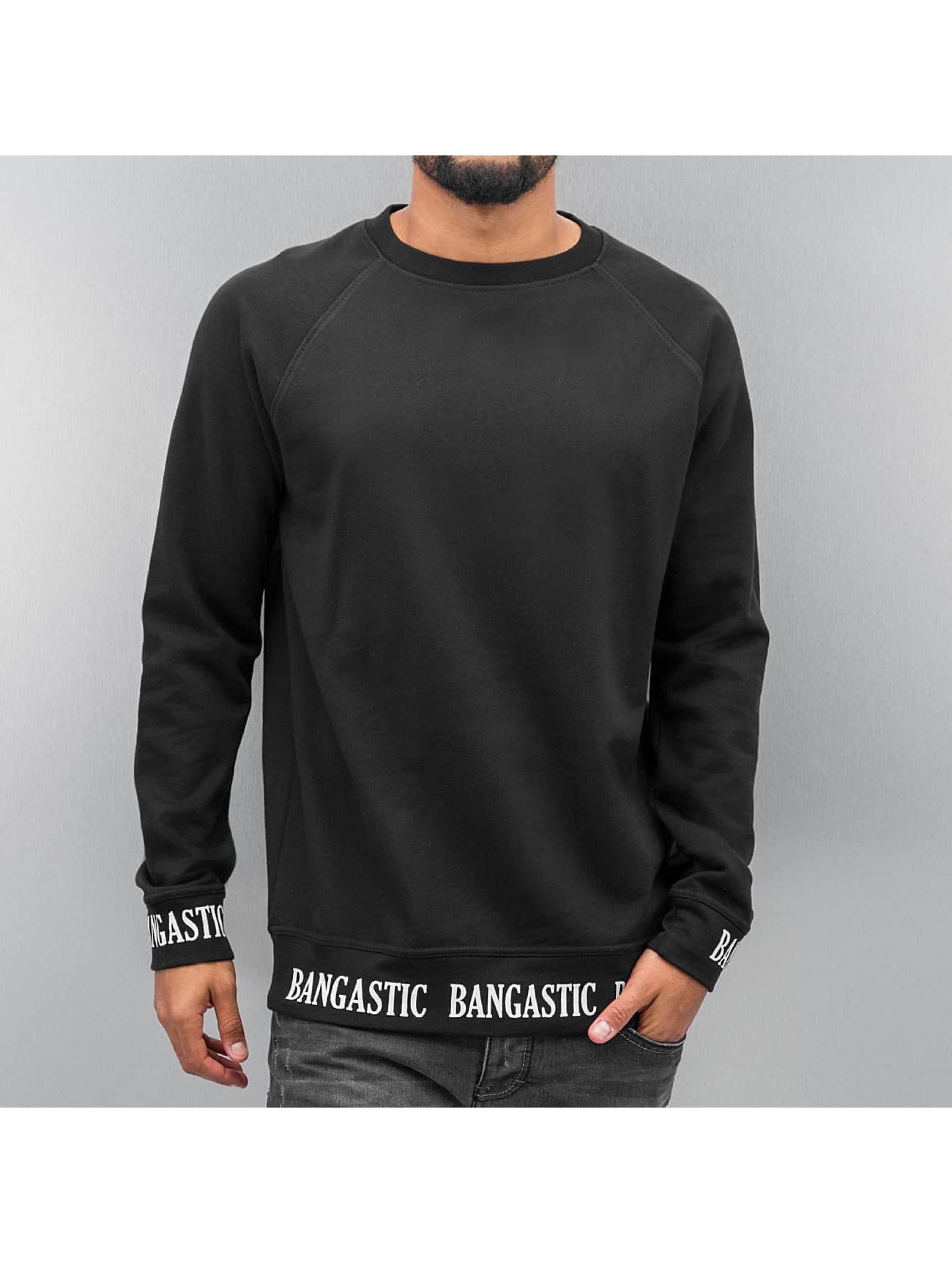 Bangastic Pullover Raglan schwarz