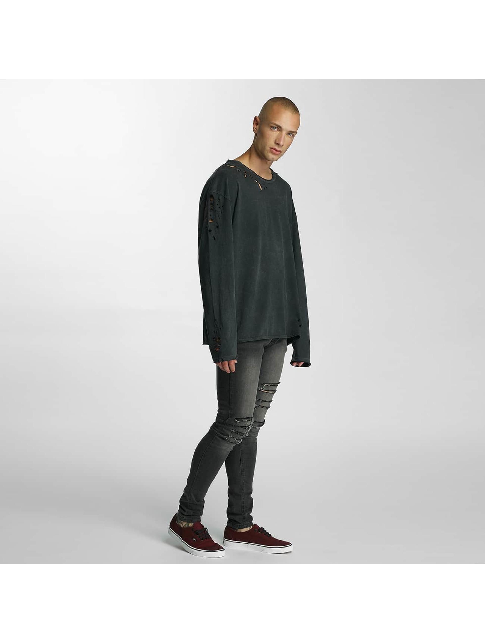 Bangastic Pullover Simpitian Oversize schwarz