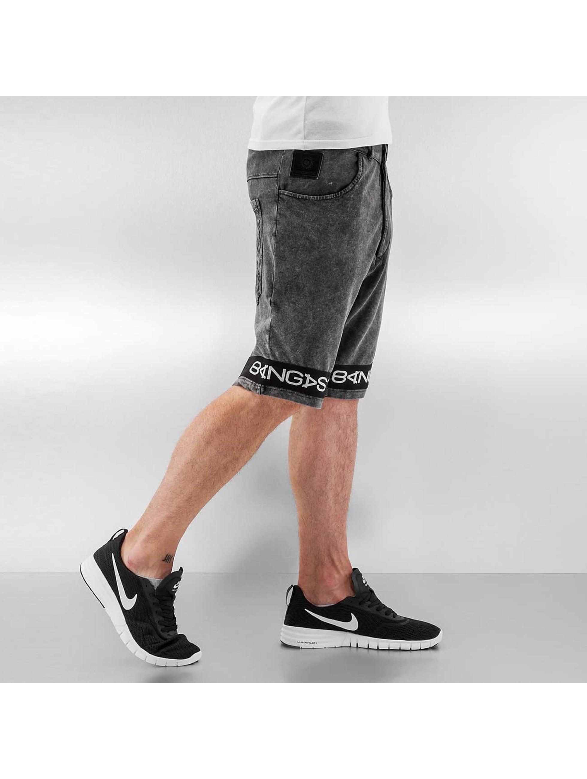 Bangastic Shorts Symbols grau