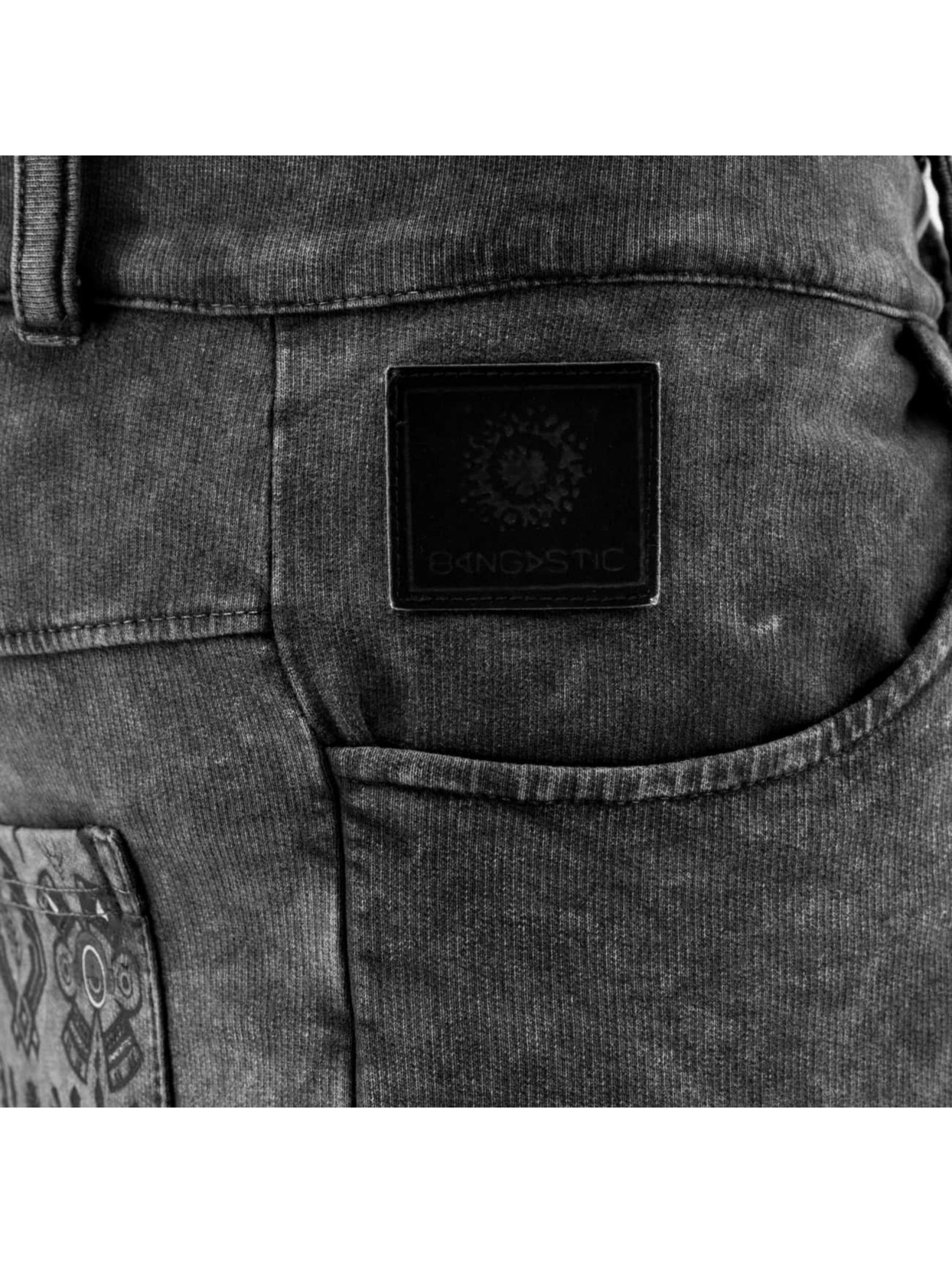Bangastic shorts Symbols grijs