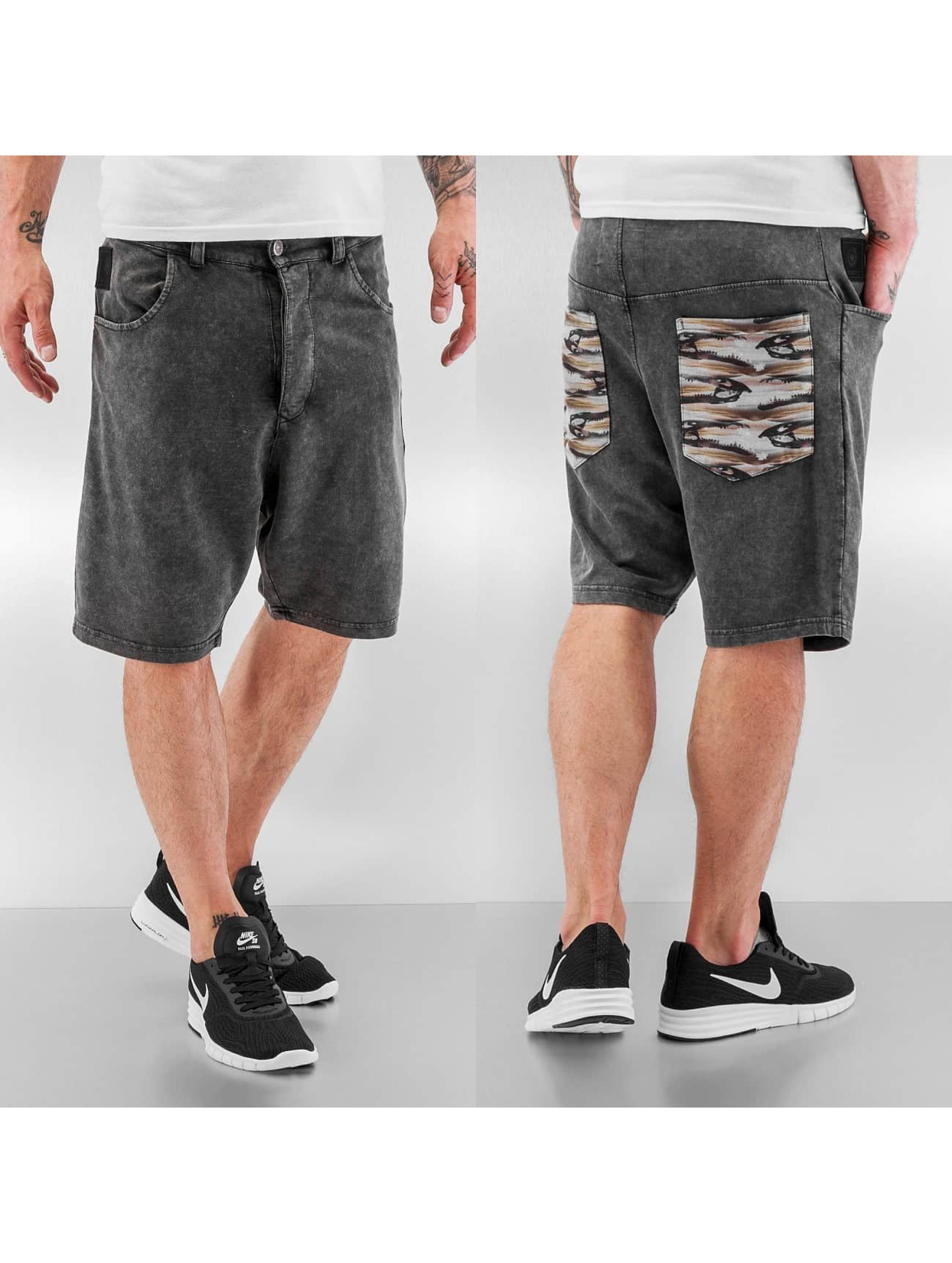 Bangastic shorts Crocodile grijs