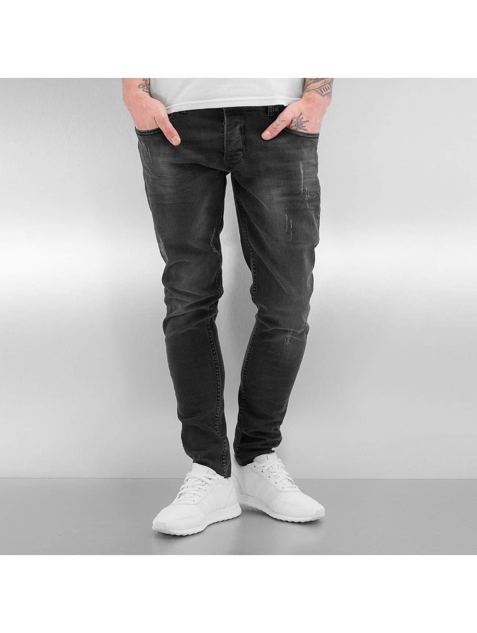 Bangastic Slim Fit Jeans A75 šedá