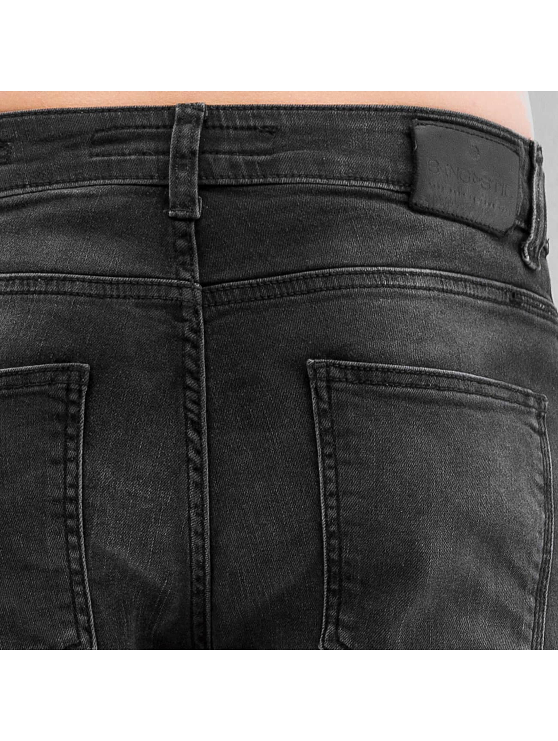 Bangastic Slim Fit Jeans K125 Slim Fit šedá