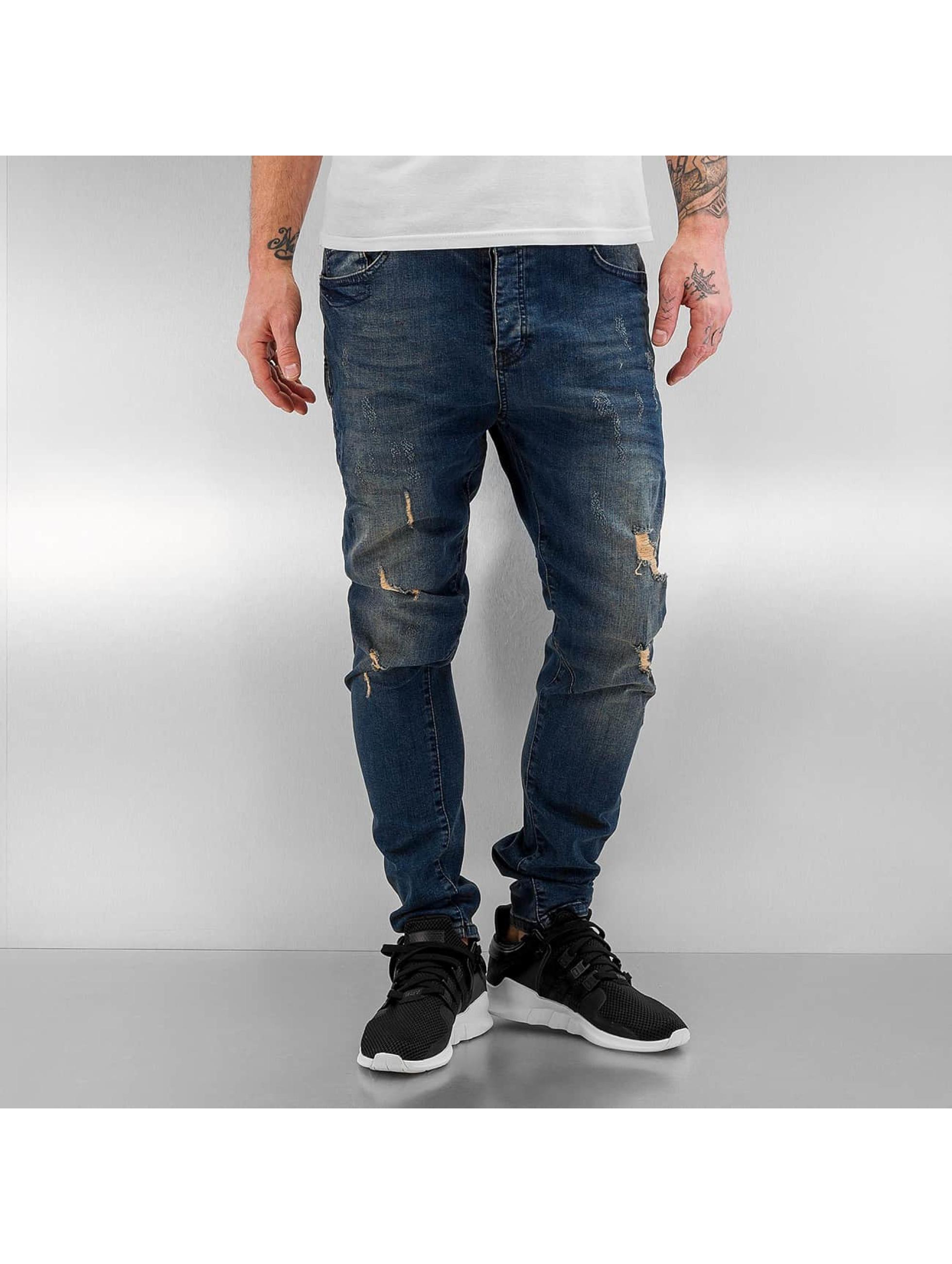 Bangastic Slim Fit Jeans Kurt modrá