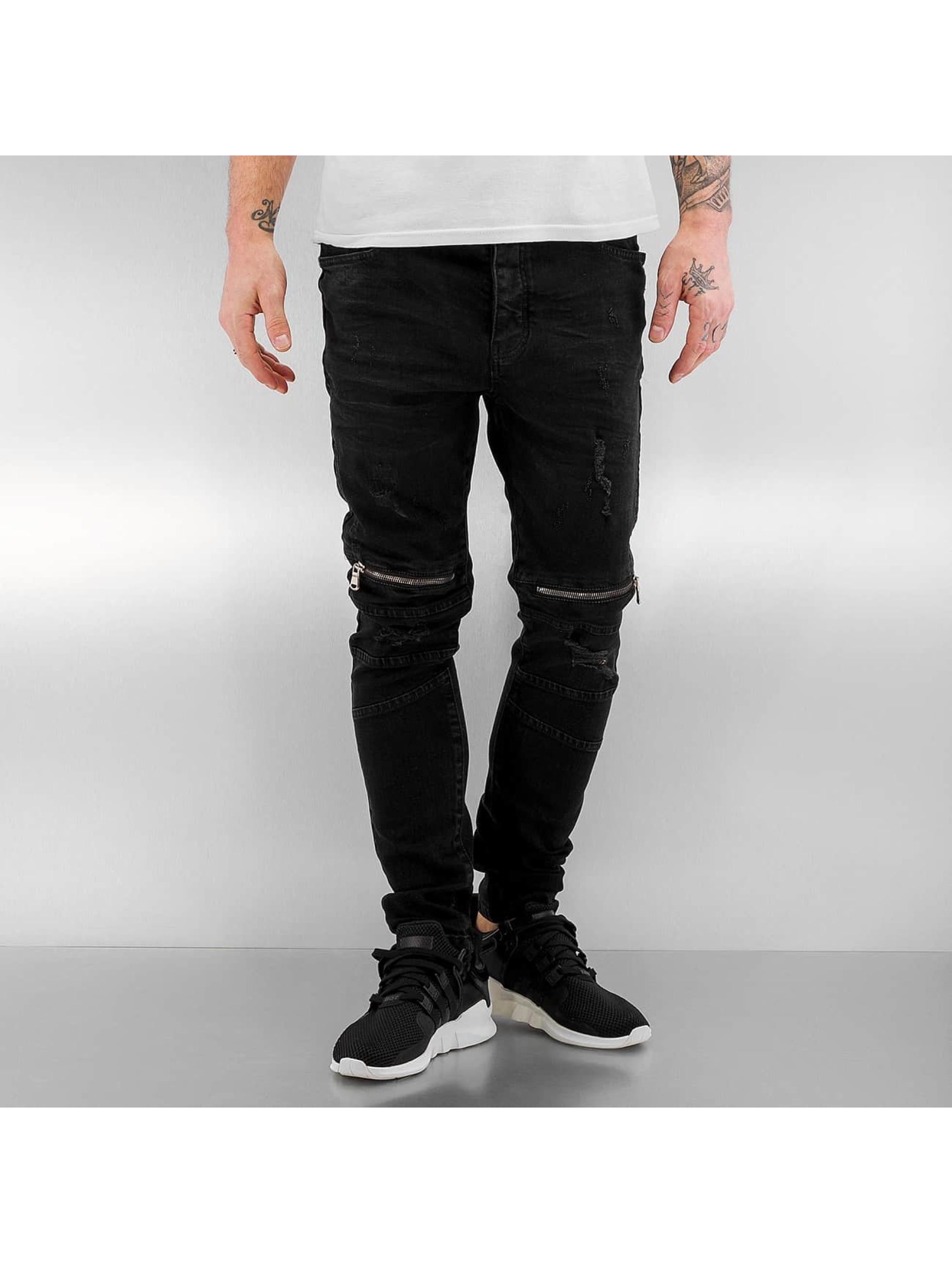 Bangastic heren slim fit jeans Mika - zwart