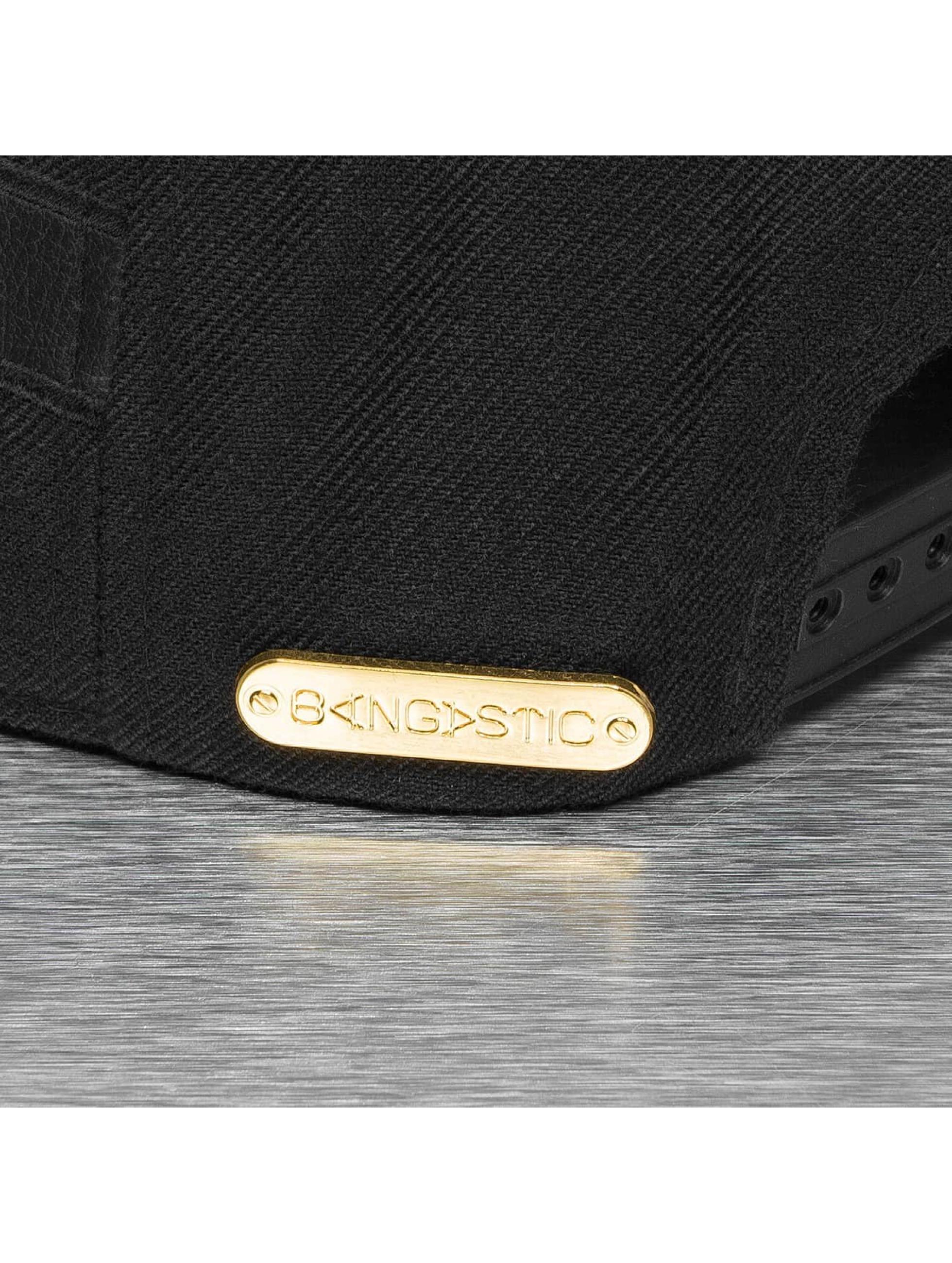 Bangastic Snapback Cap Letters schwarz