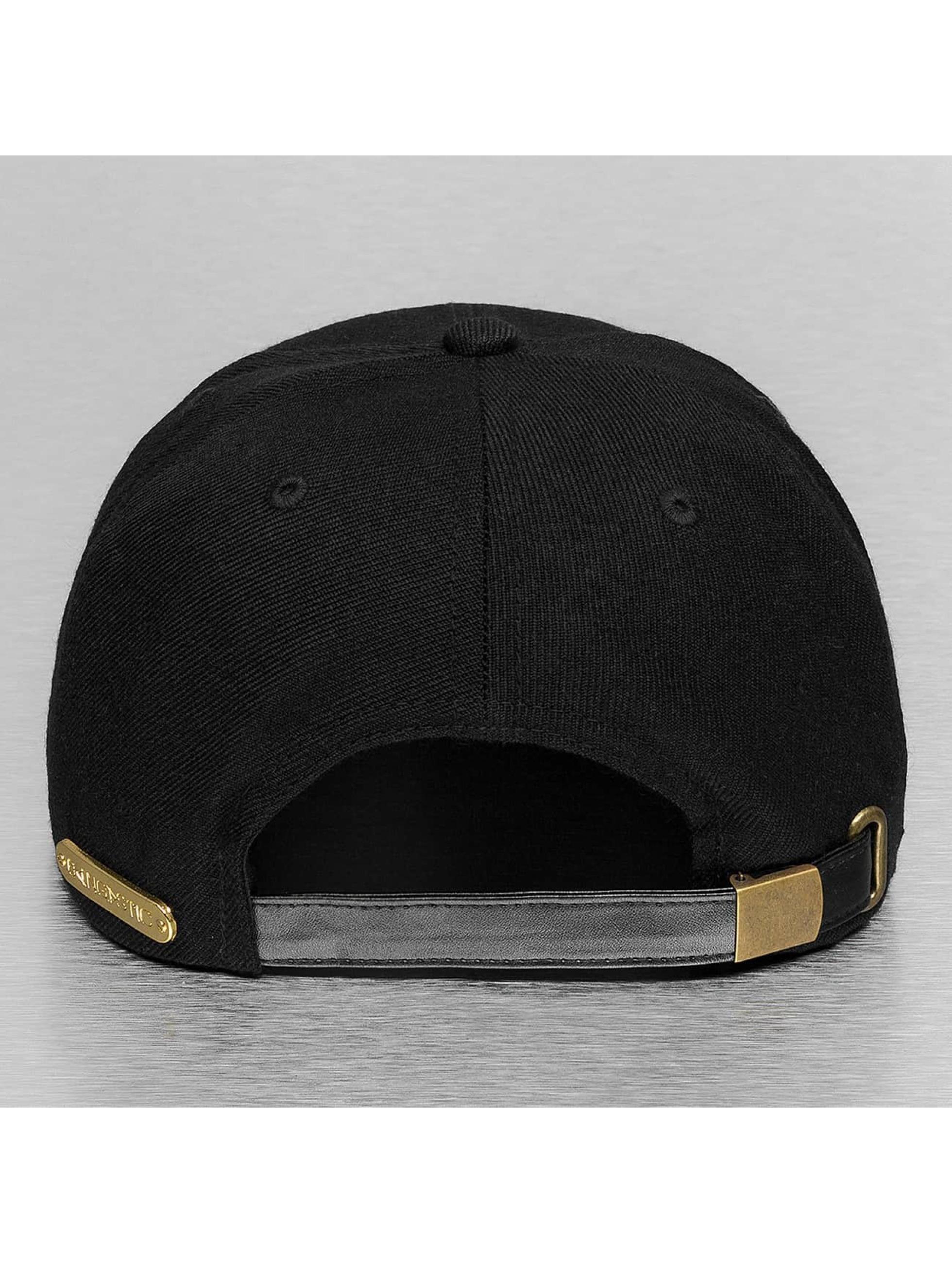 Bangastic snapback cap PU Logo II zwart