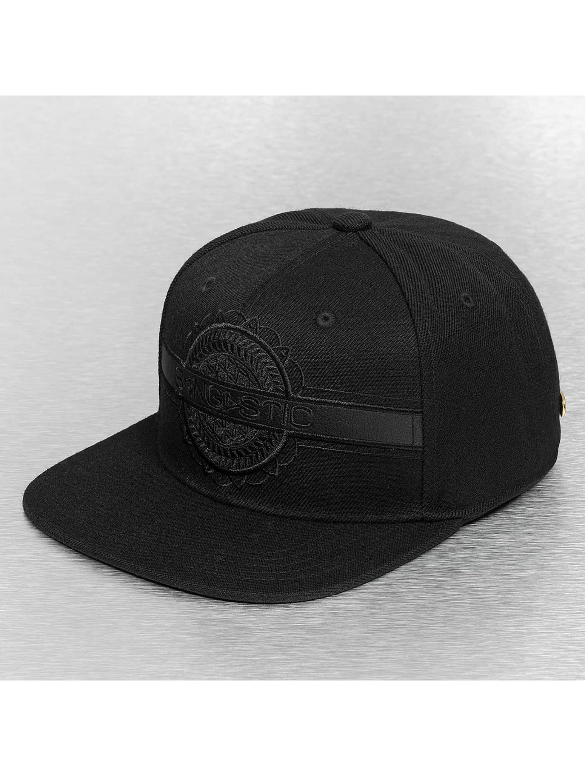 Bangastic snapback cap Black On Black zwart