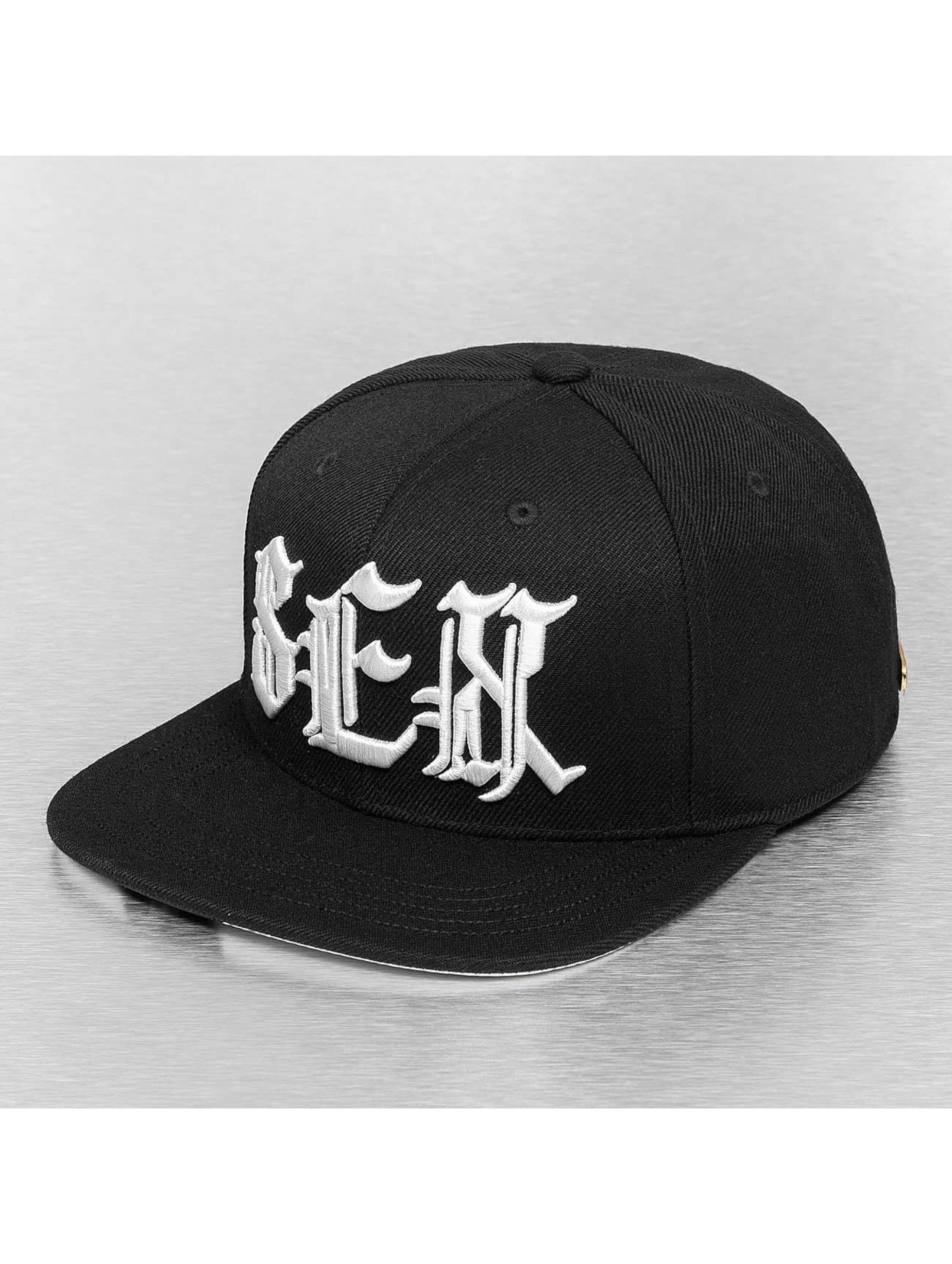 Bangastic snapback cap Letters zwart