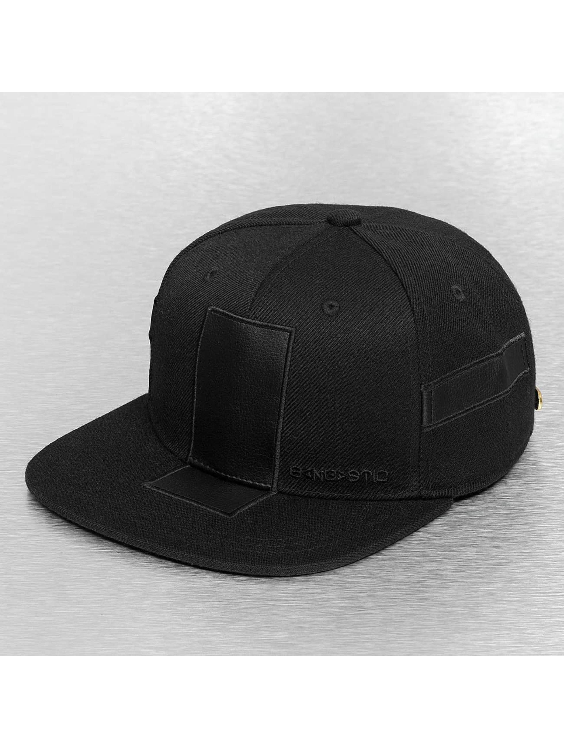 Bangastic snapback cap Base zwart