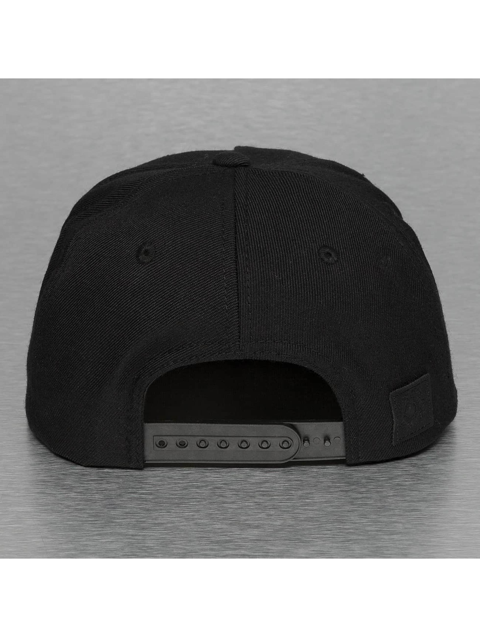 Bangastic snapback cap Pattern zwart