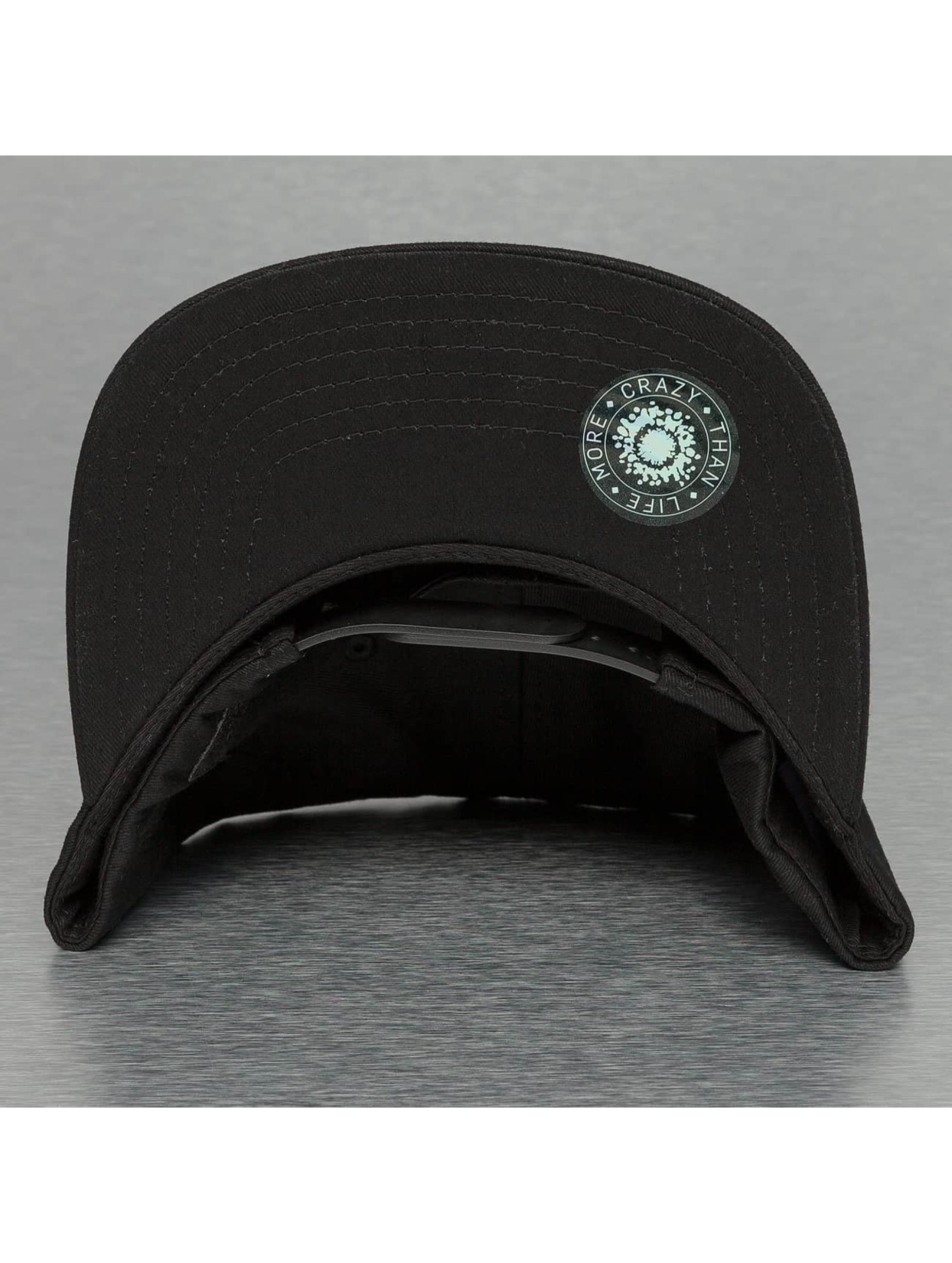 Bangastic snapback cap Acid Wash II zwart