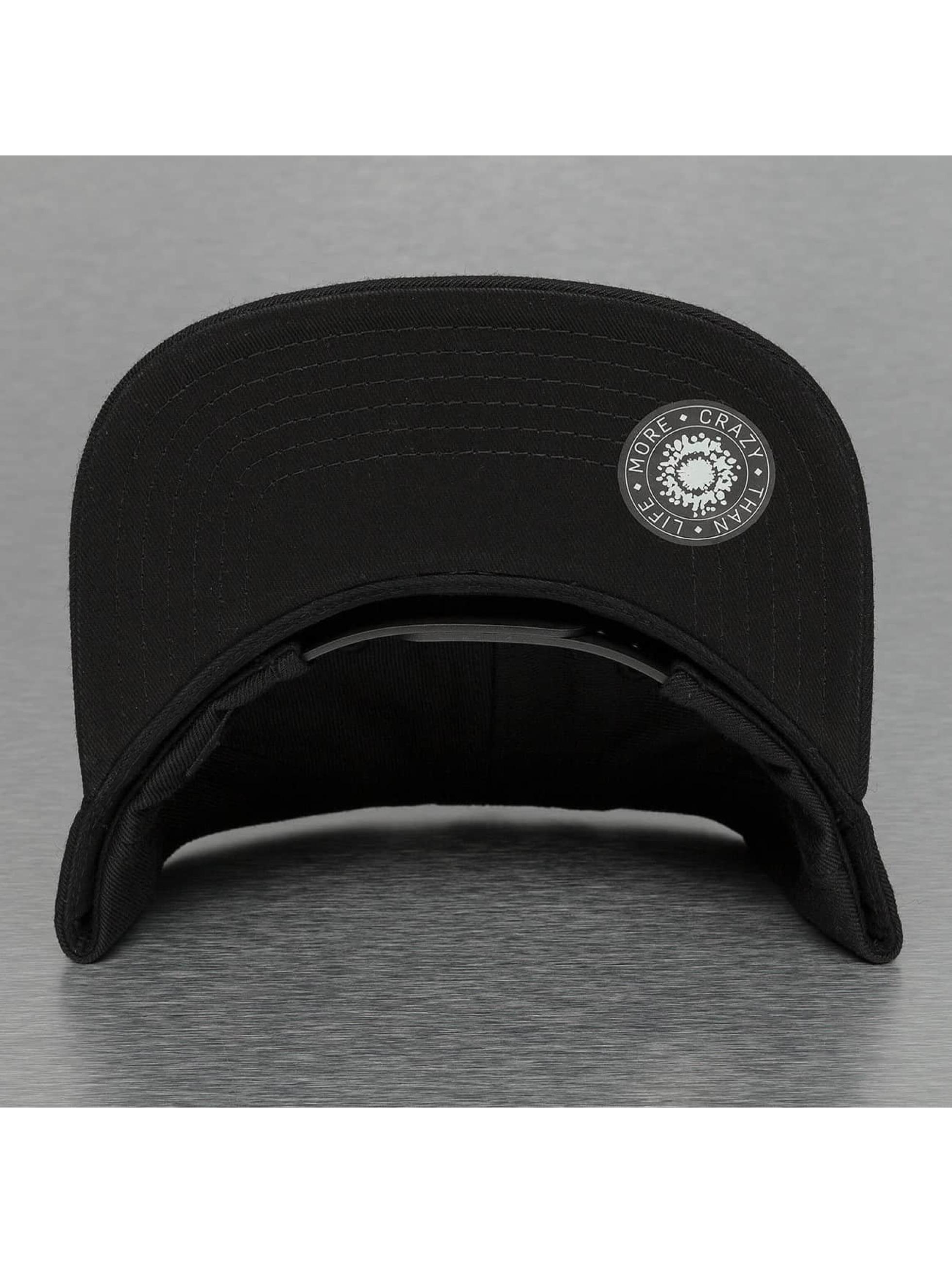 Bangastic snapback cap Hand zwart