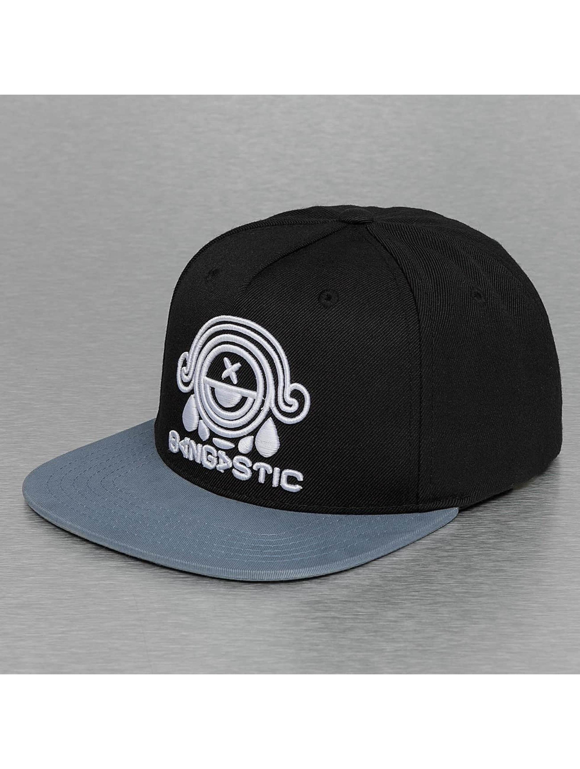 Bangastic snapback cap Logo zwart
