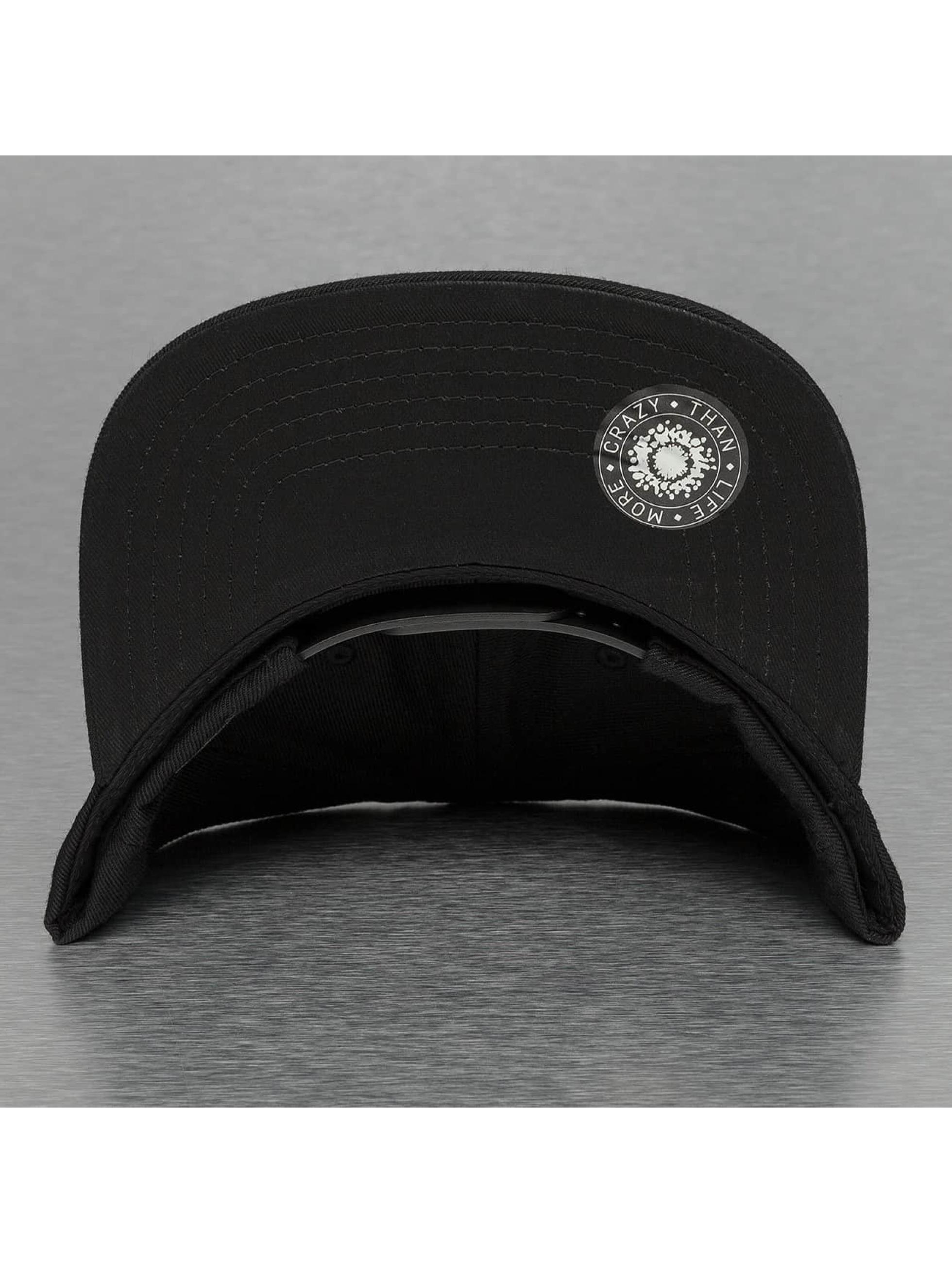 Bangastic Snapback Caps Square musta