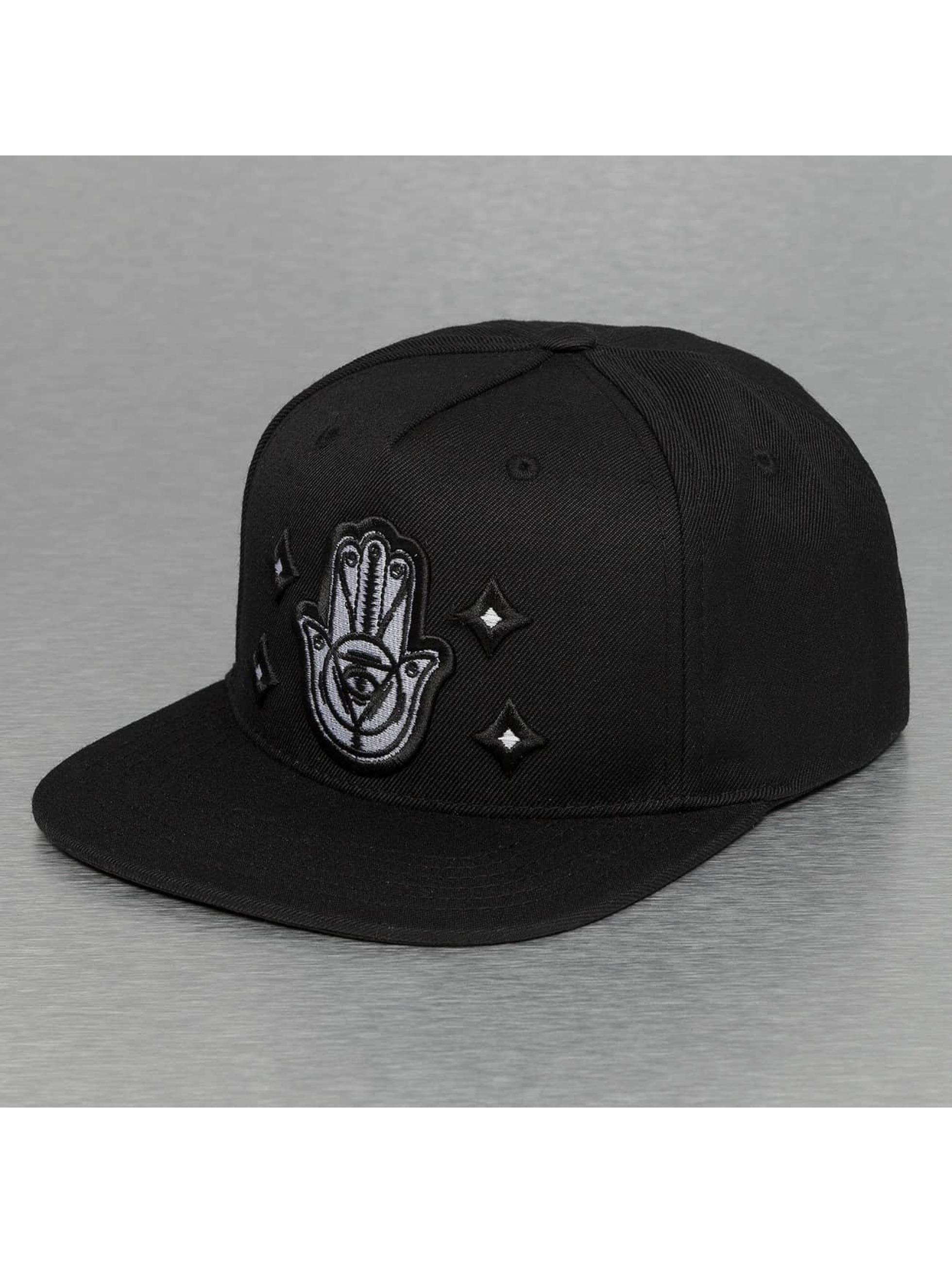 Bangastic Snapback Caps Hand musta
