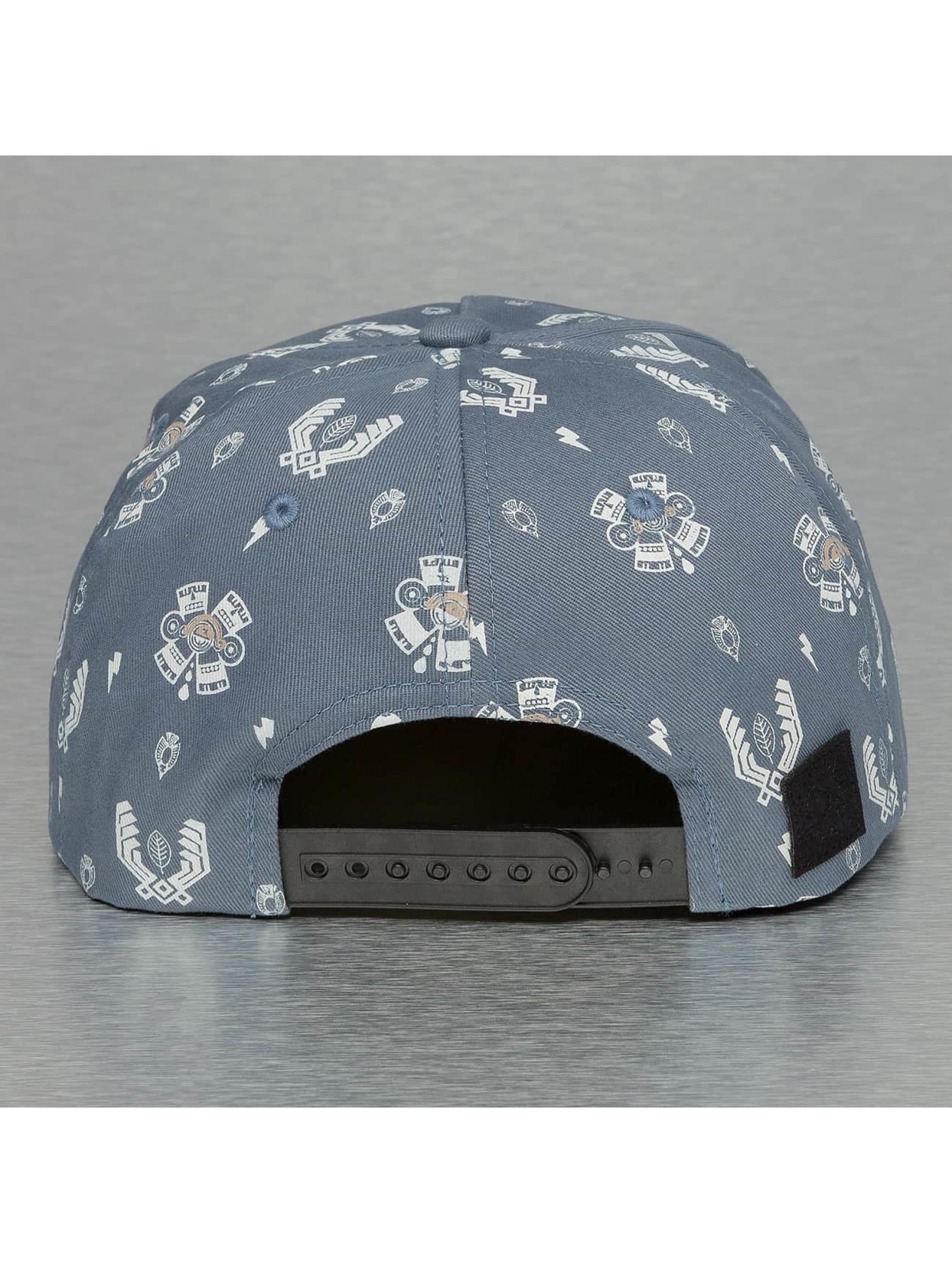 Bangastic Snapback Caps Logo niebieski