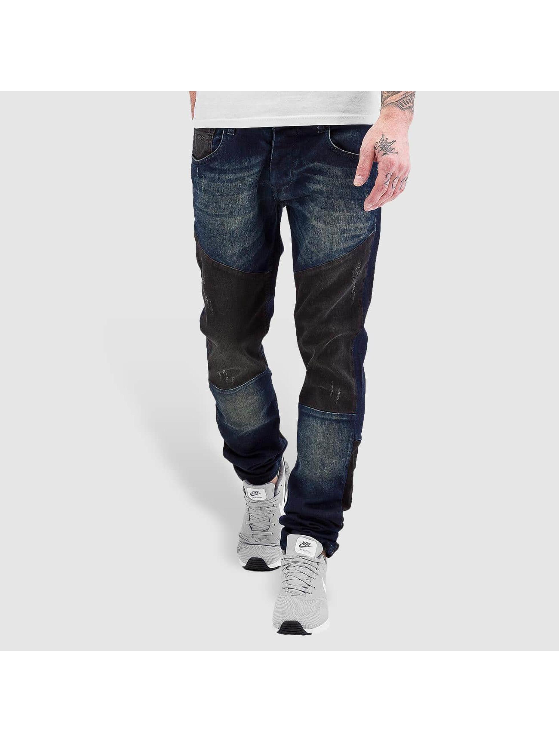 Bangastic Straight Fit Jeans 2 Tone blau