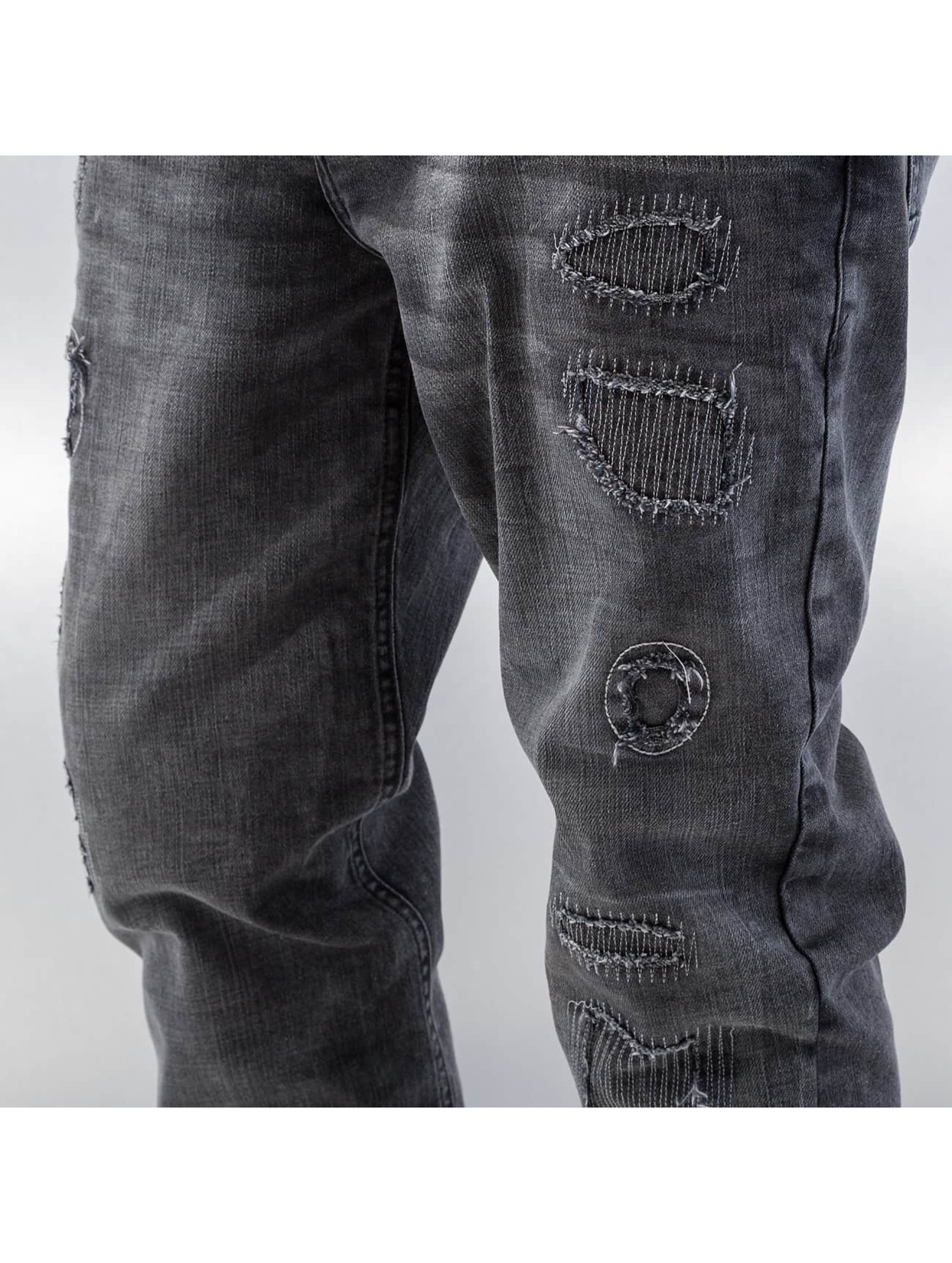 Bangastic Straight Fit Jeans Barbados grey