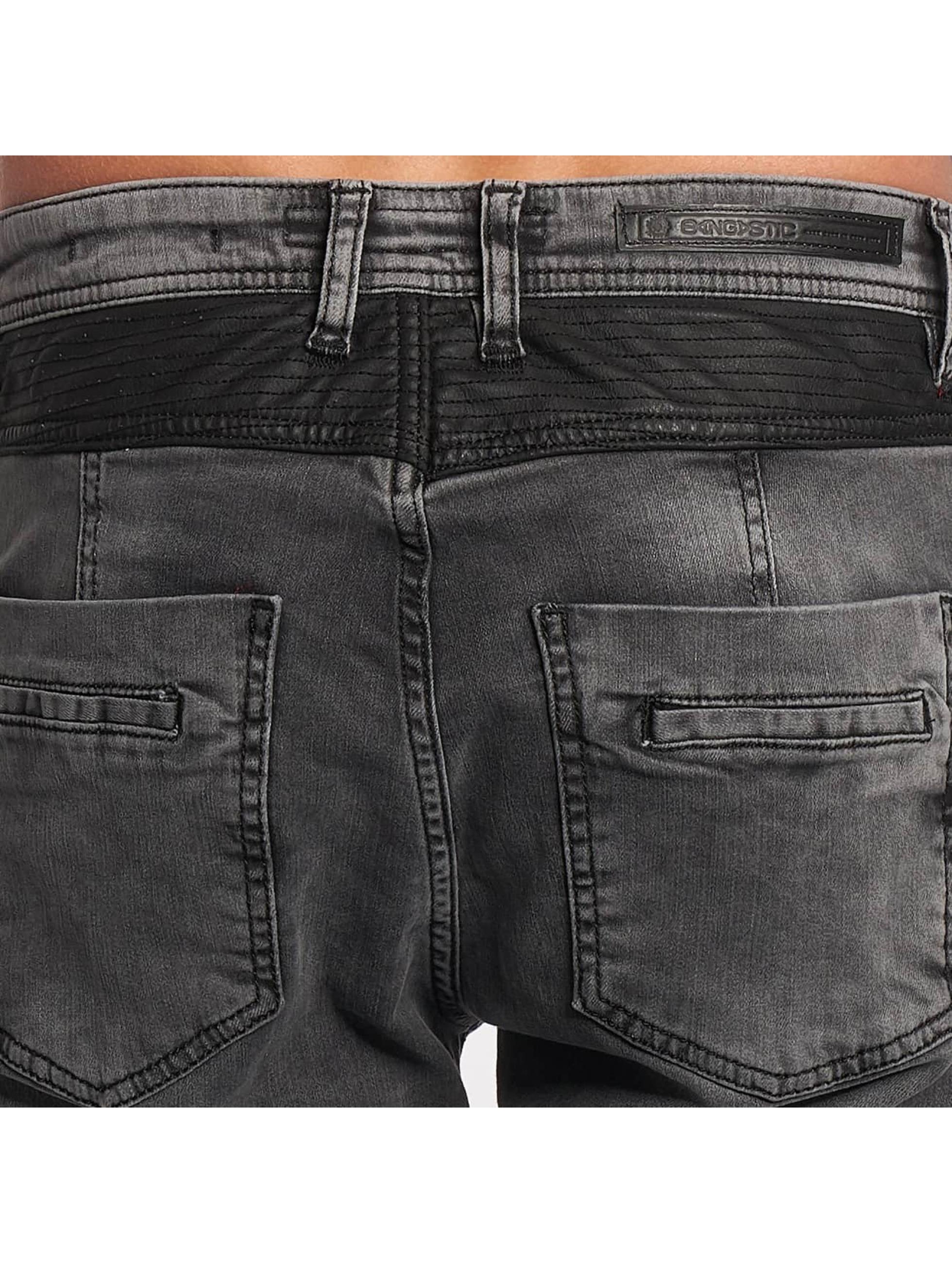 Bangastic Straight fit jeans PU grijs