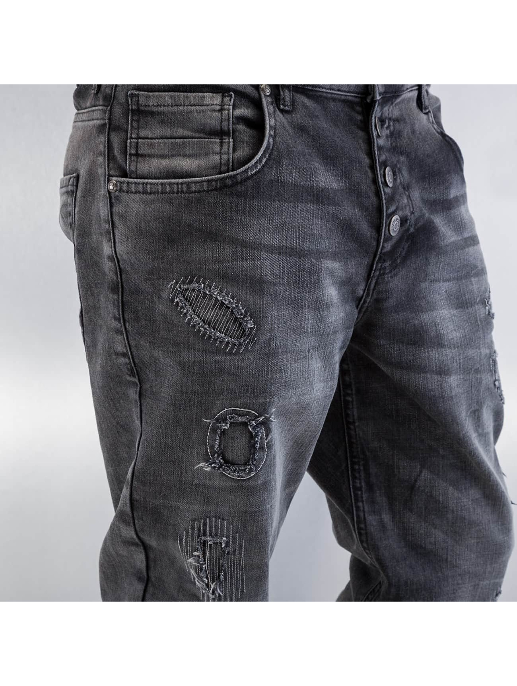 Bangastic Straight fit jeans Barbados grijs