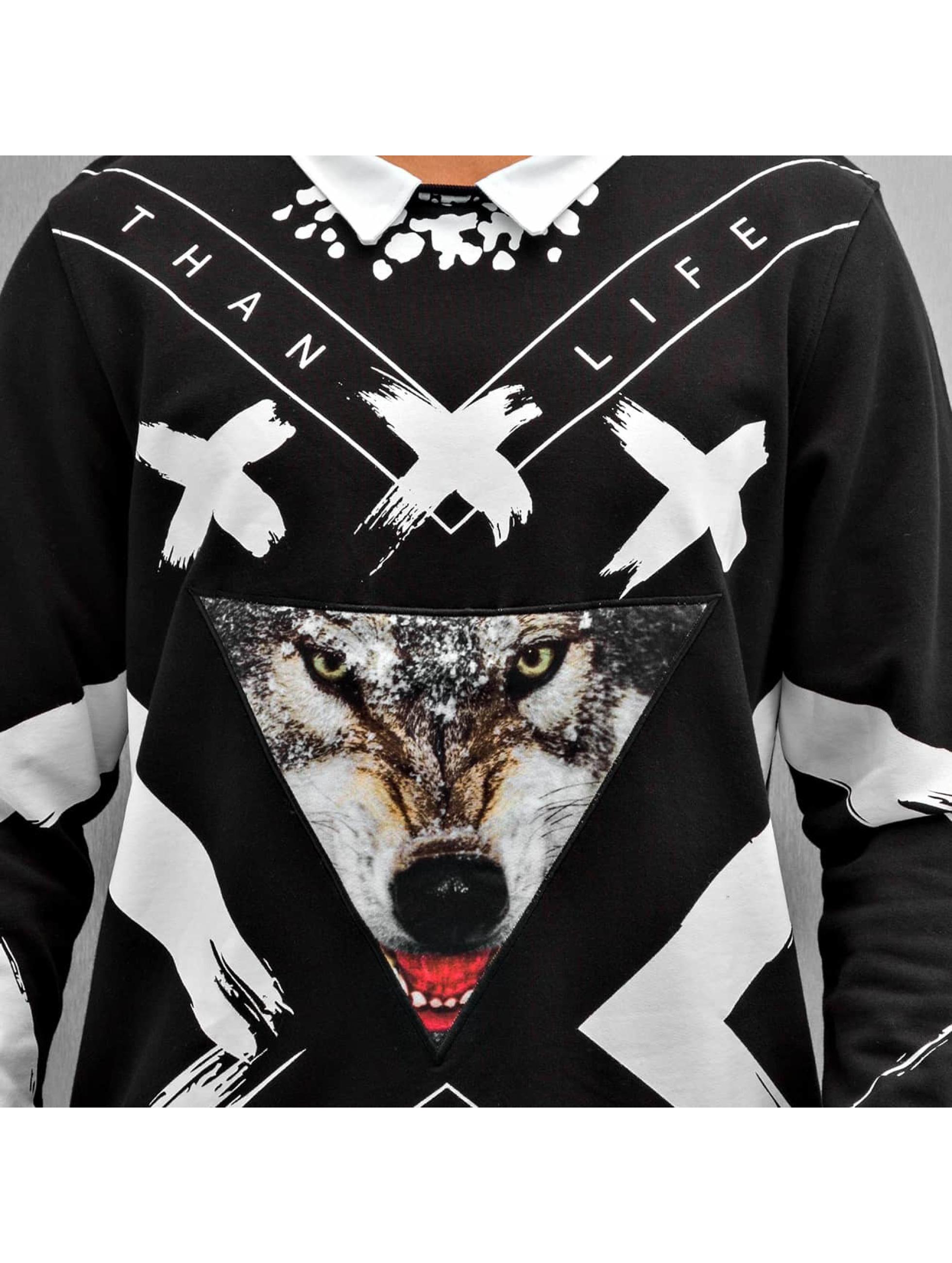 Bangastic Sweat & Pull Wolf noir