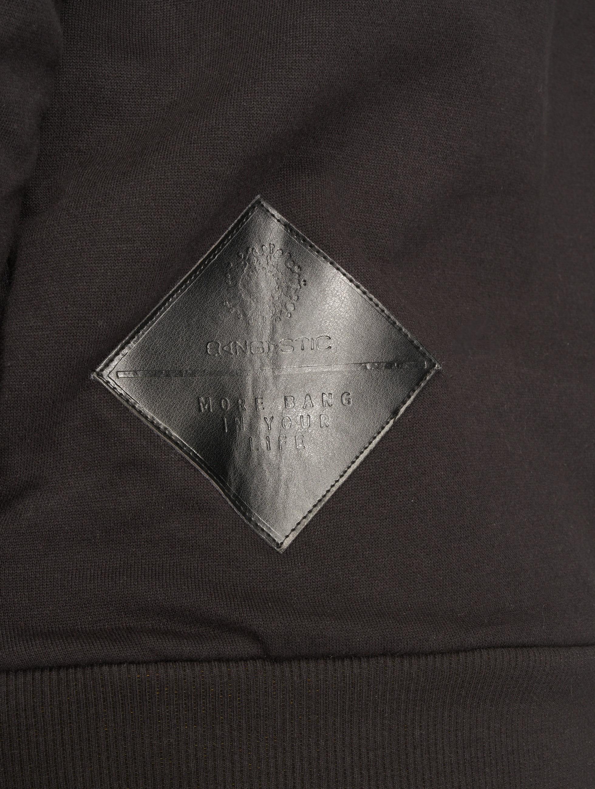 Bangastic Sweat capuche Logo PU noir