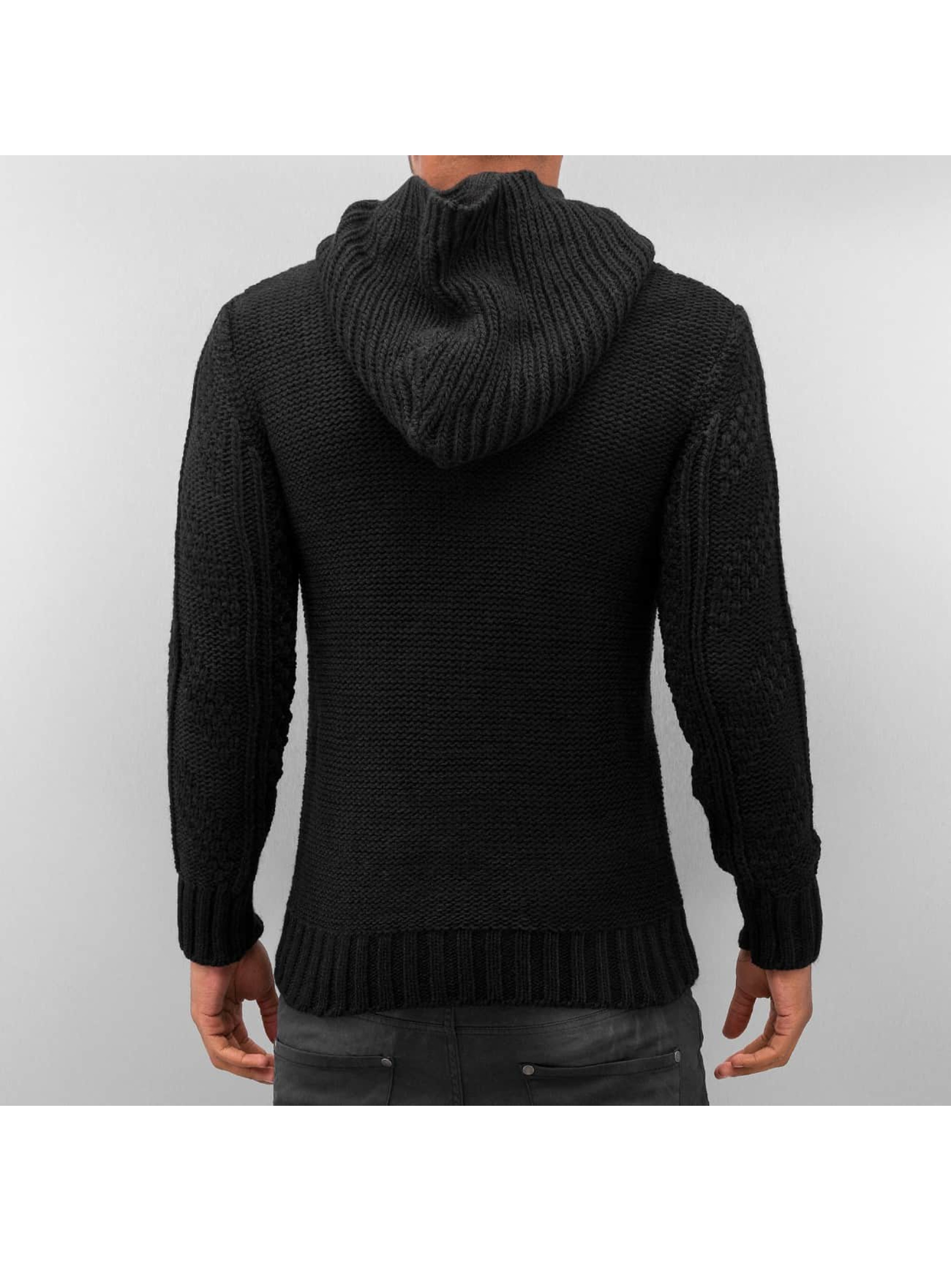 Bangastic Sweat capuche Knitted noir