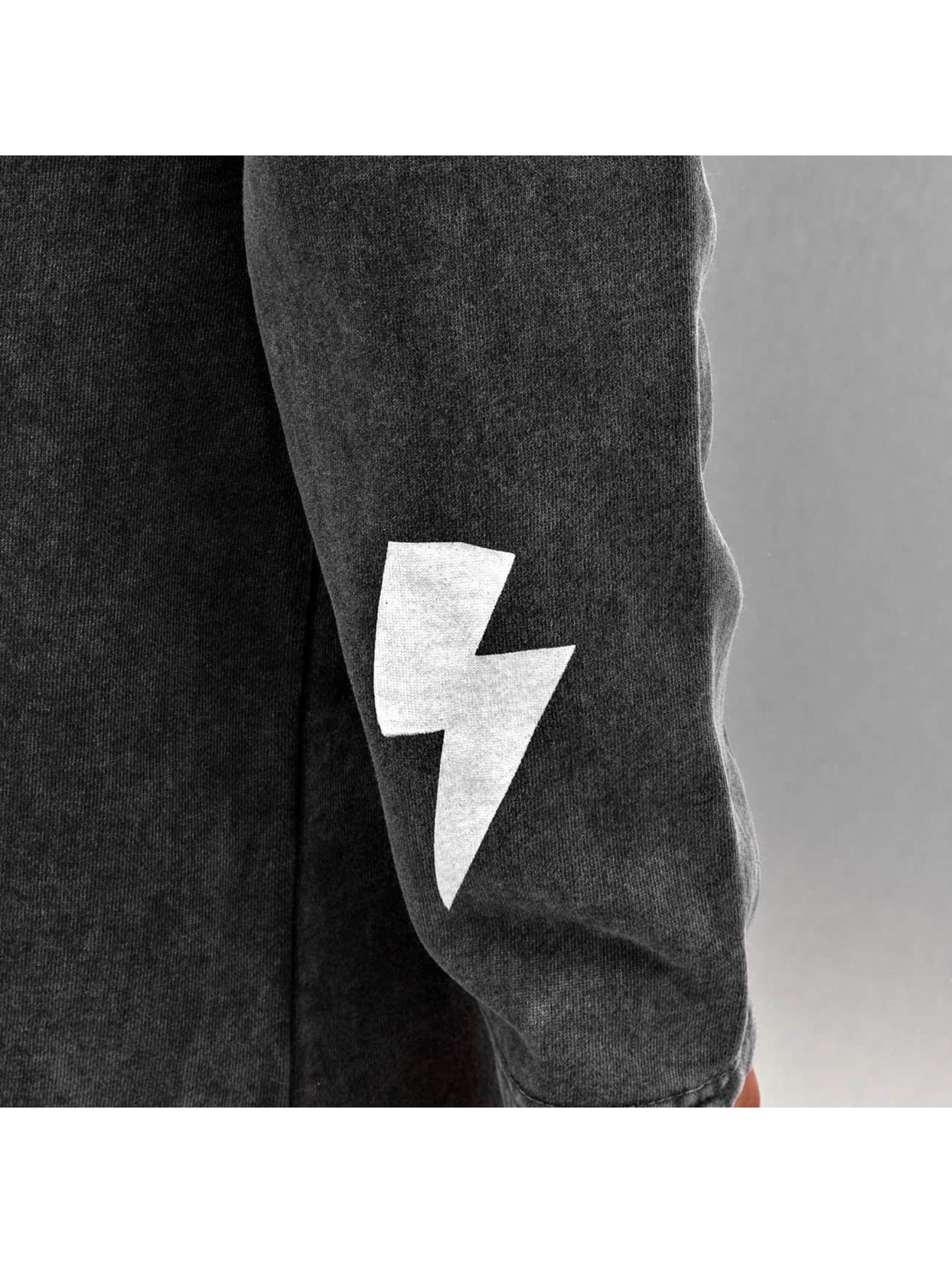Bangastic Sweat capuche zippé Symbols noir