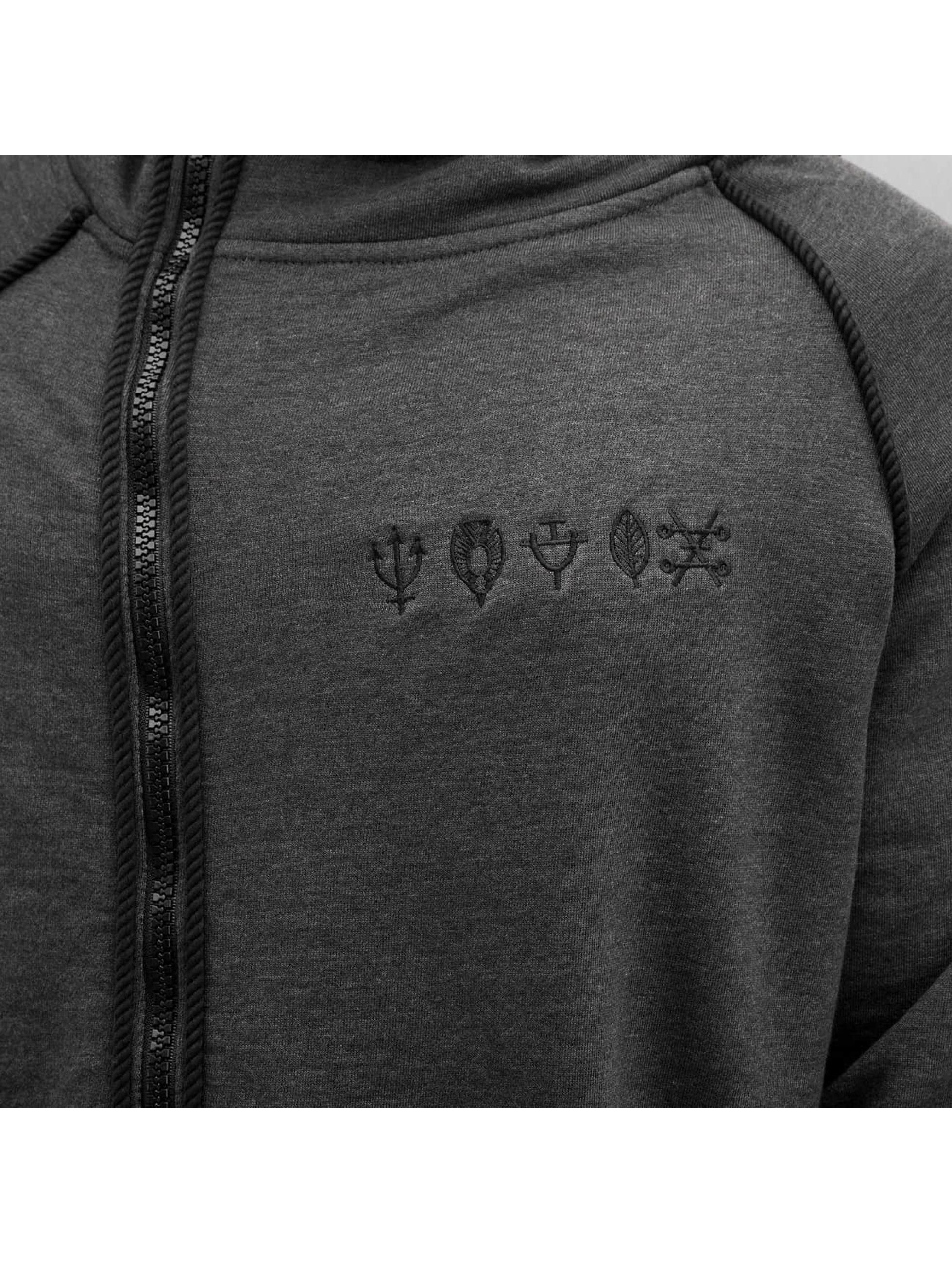 Bangastic Sweatvest Symbols zwart