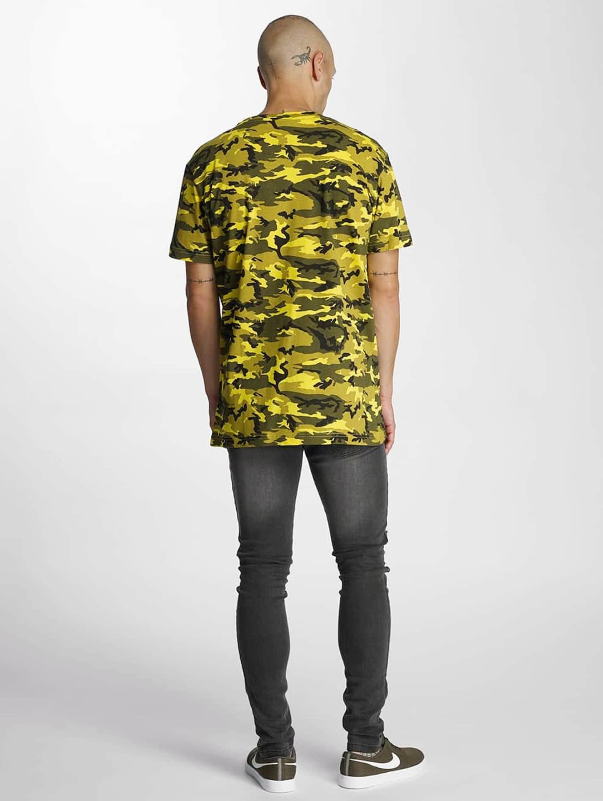 Bangastic T-paidat Pocket keltainen