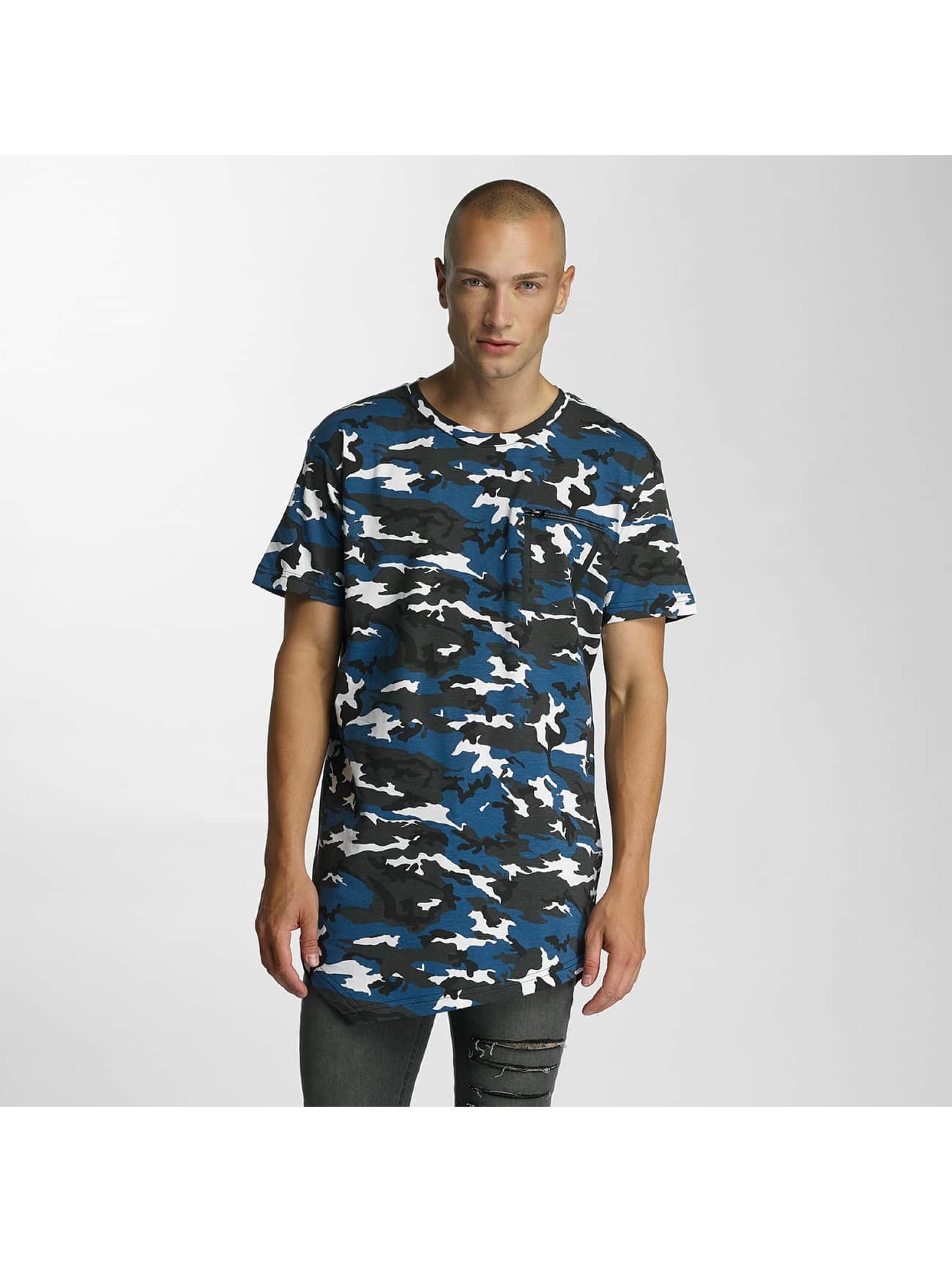 Bangastic T-Shirt Camo bleu