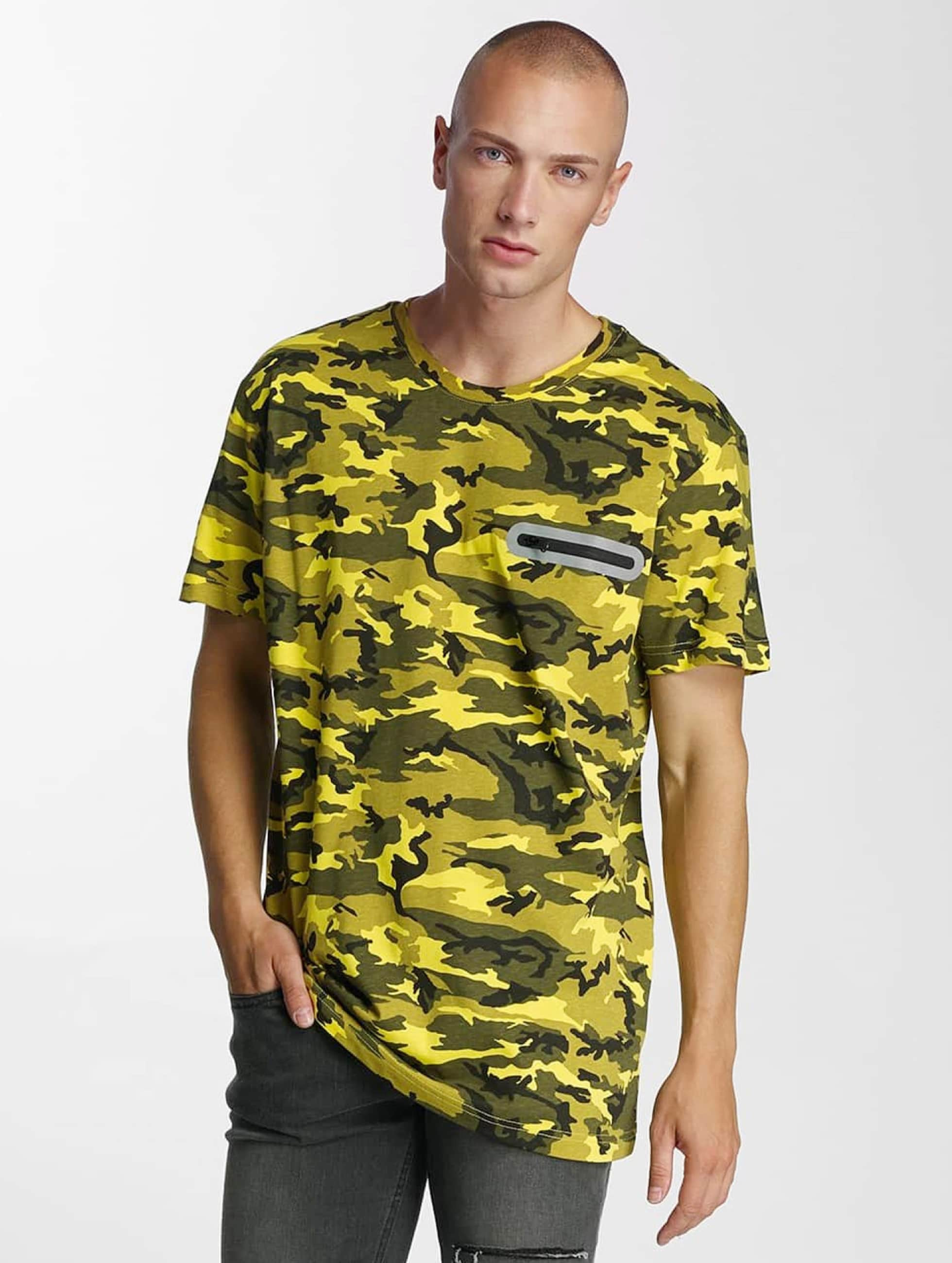 Bangastic t-shirt Pocket geel