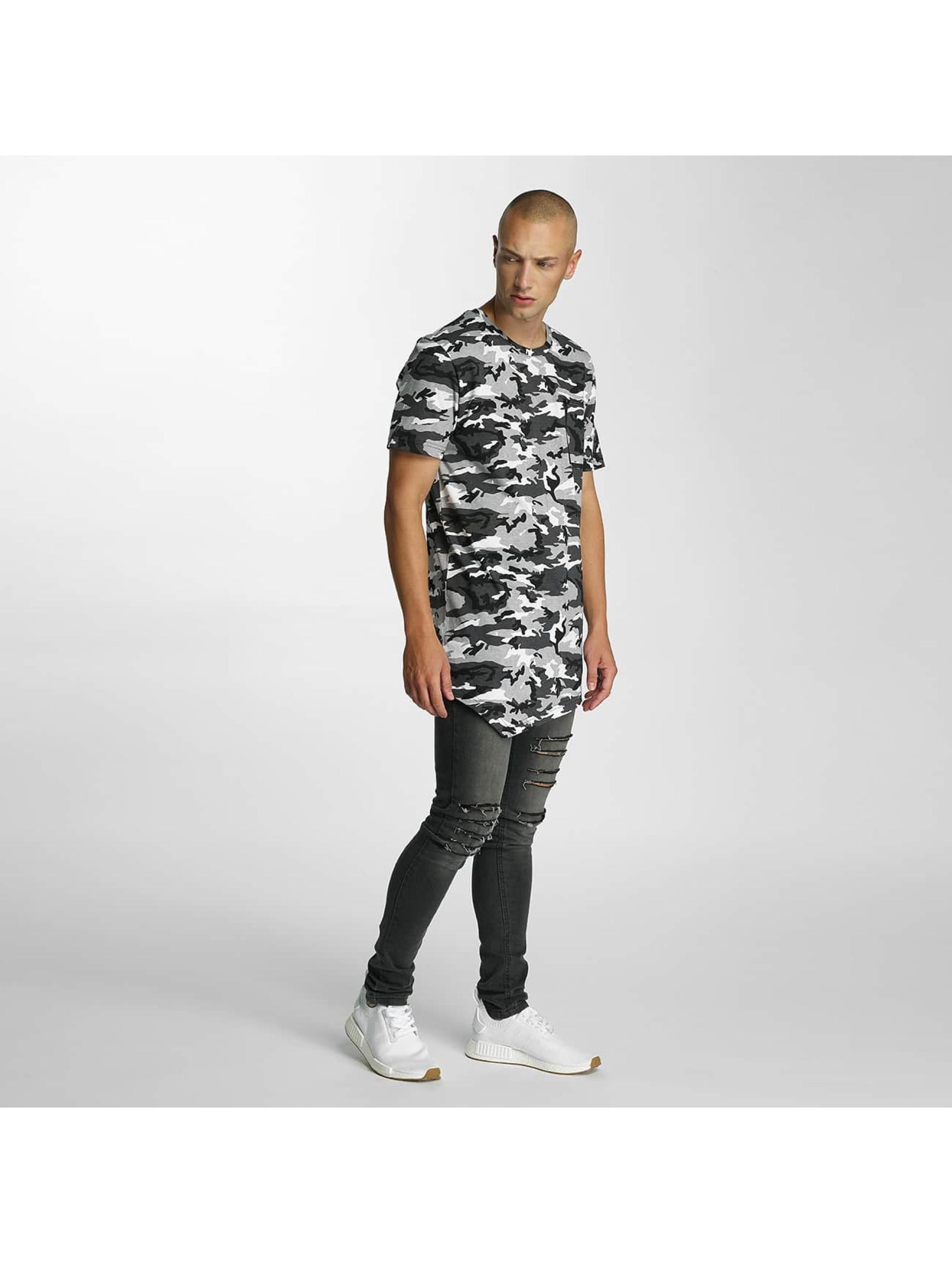 Bangastic t-shirt Camo grijs