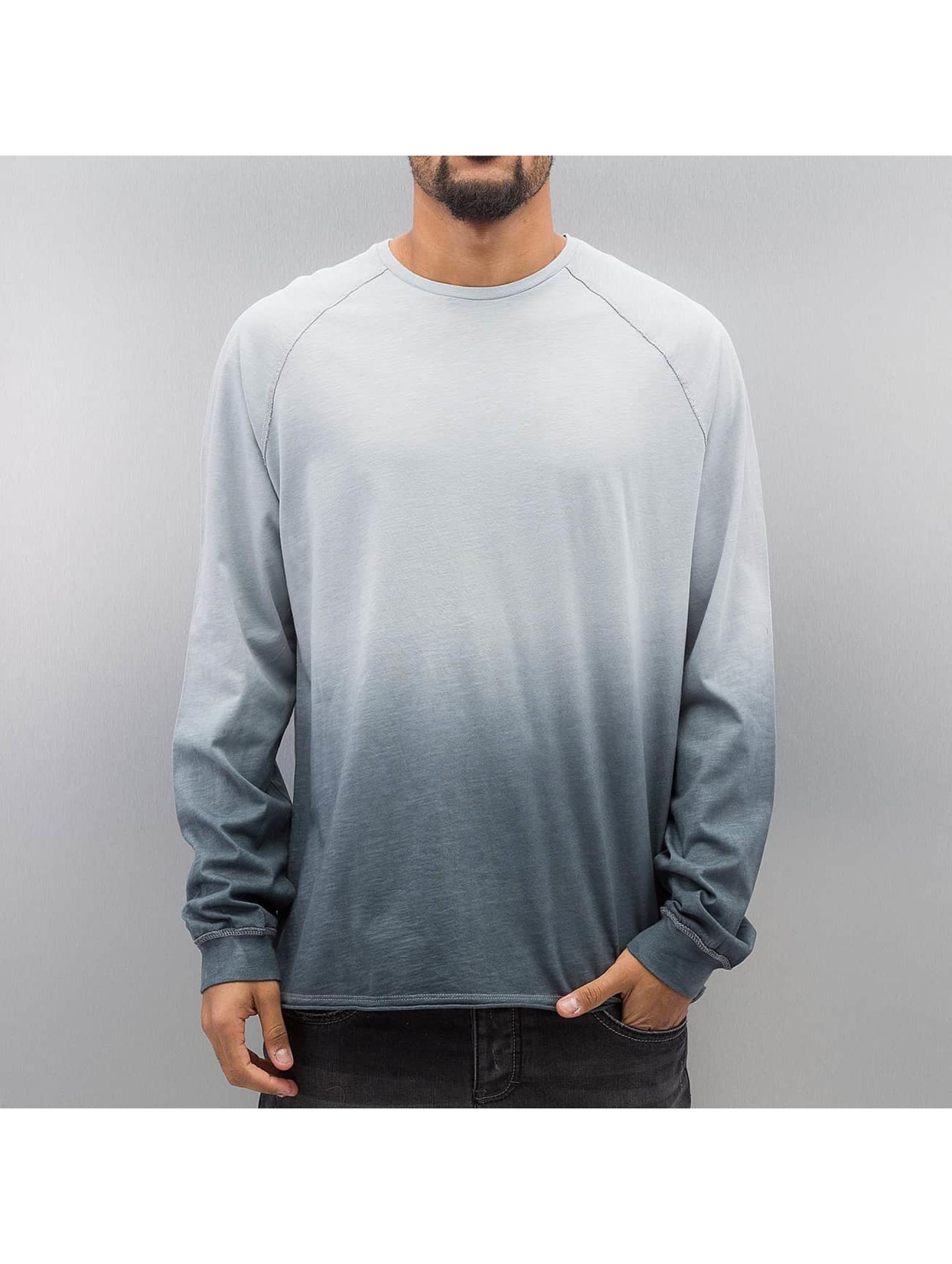 Bangastic T-Shirt manches longues AE189 Oversize bleu