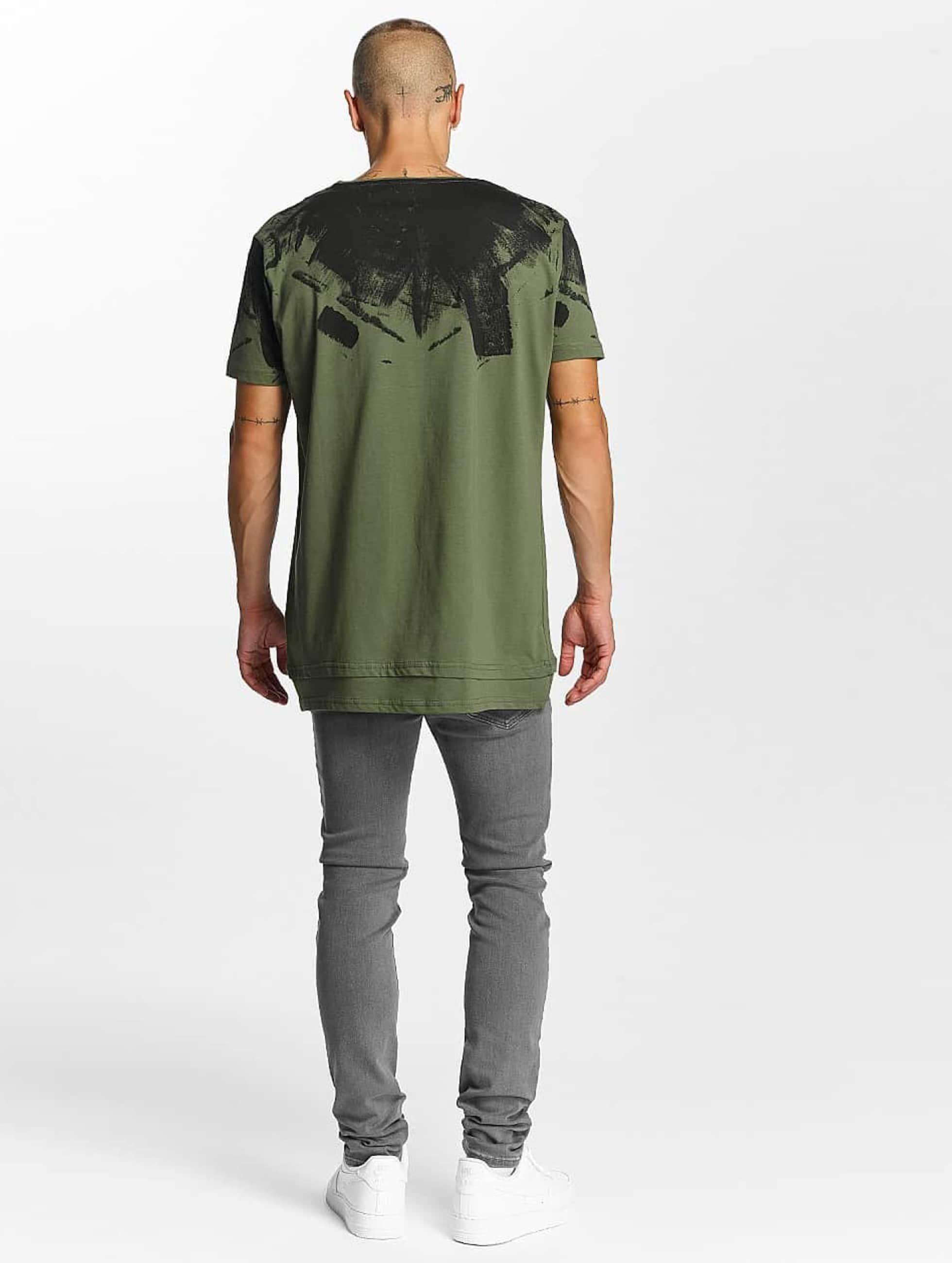 Bangastic T-Shirt Splash olive