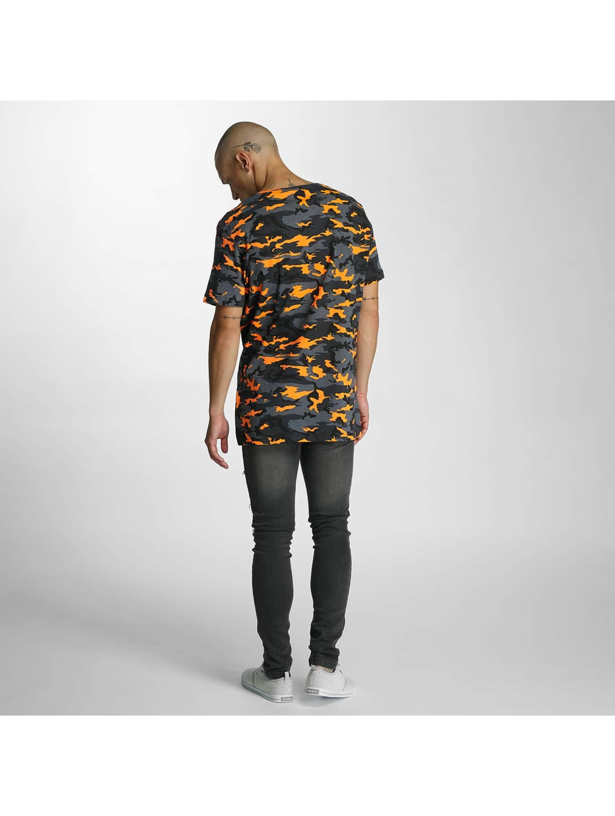 Bangastic t-shirt Camo oranje