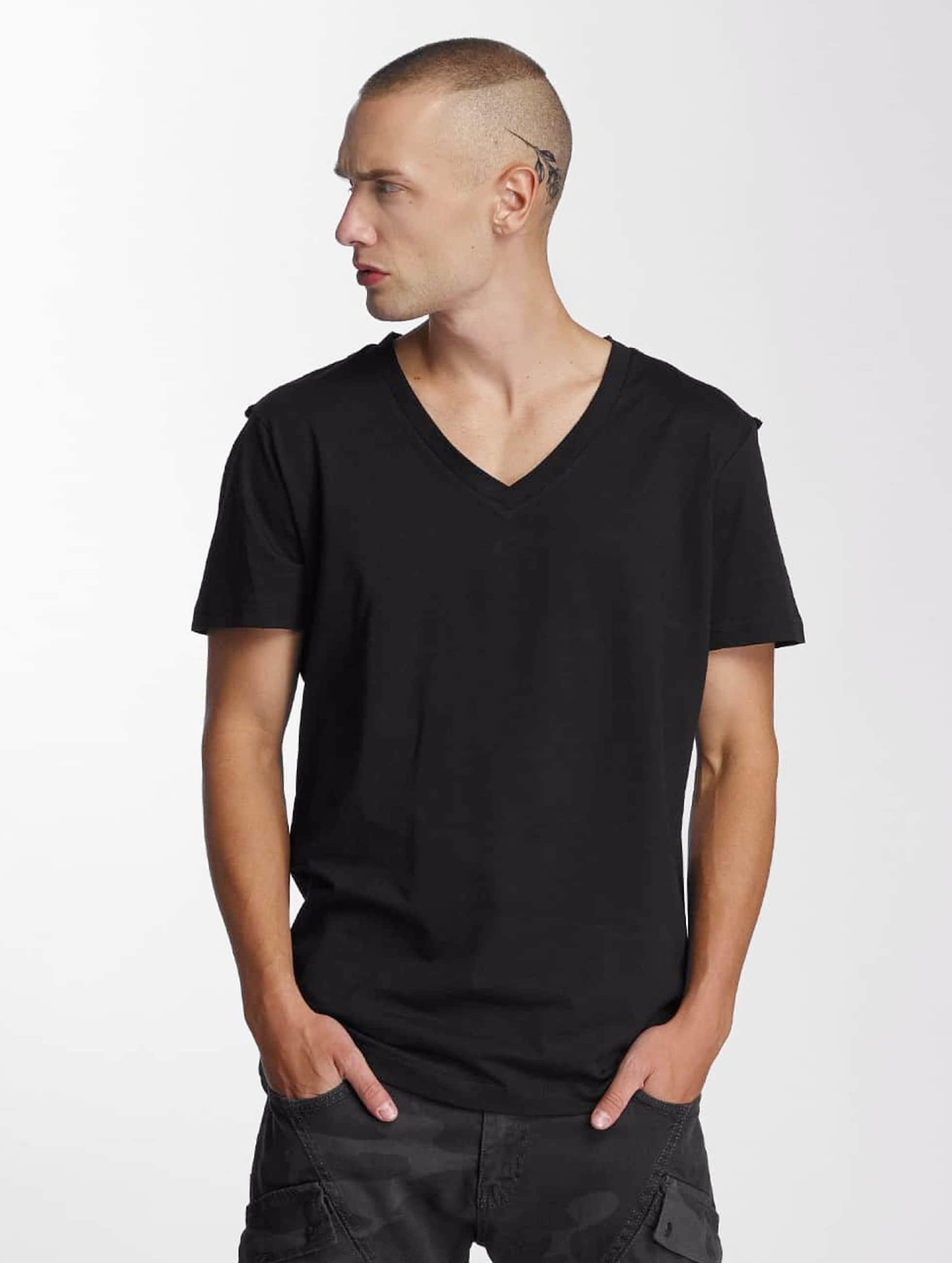Bangastic T-Shirt V-Neck schwarz