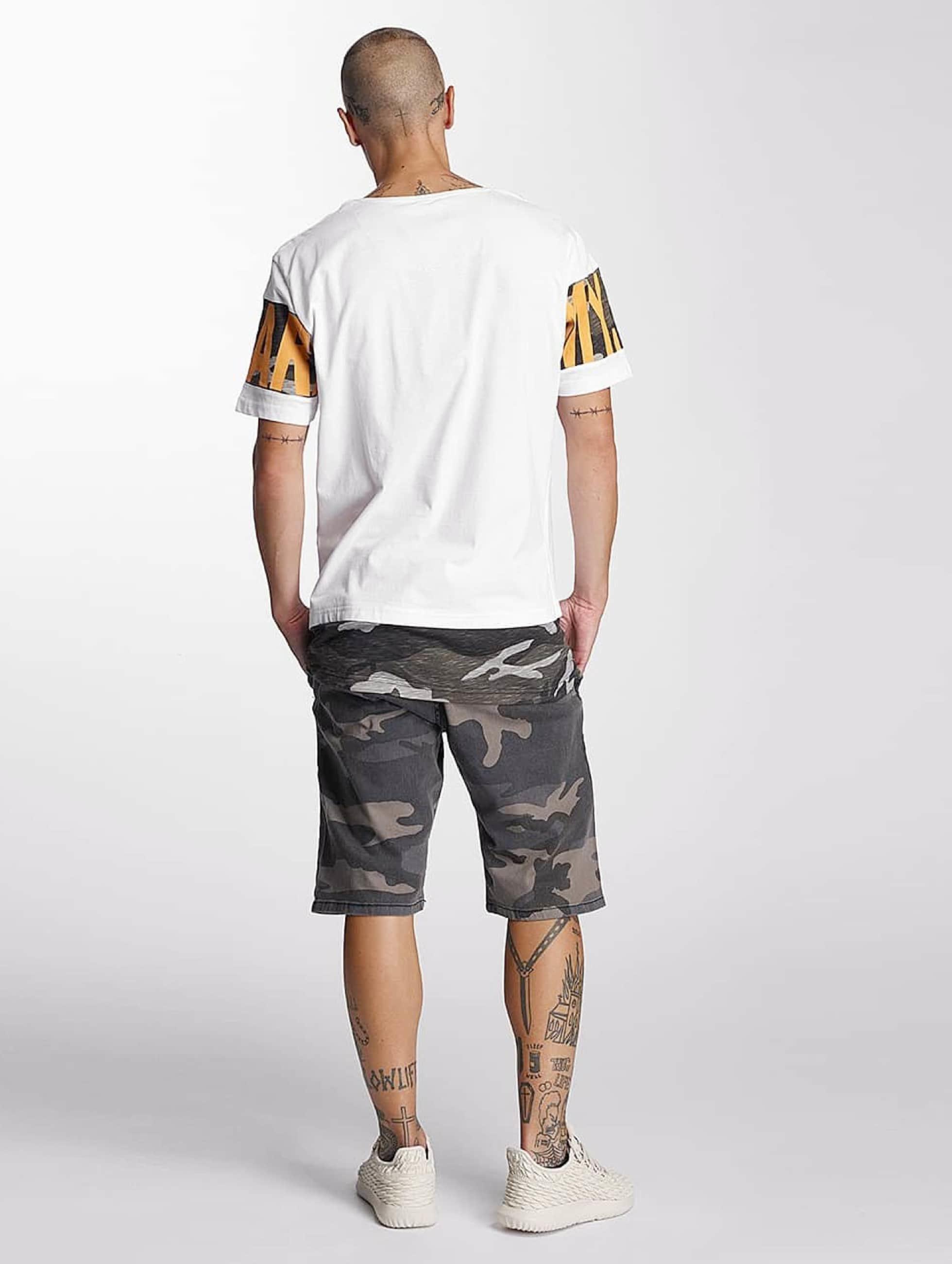 Bangastic T-Shirt Army weiß