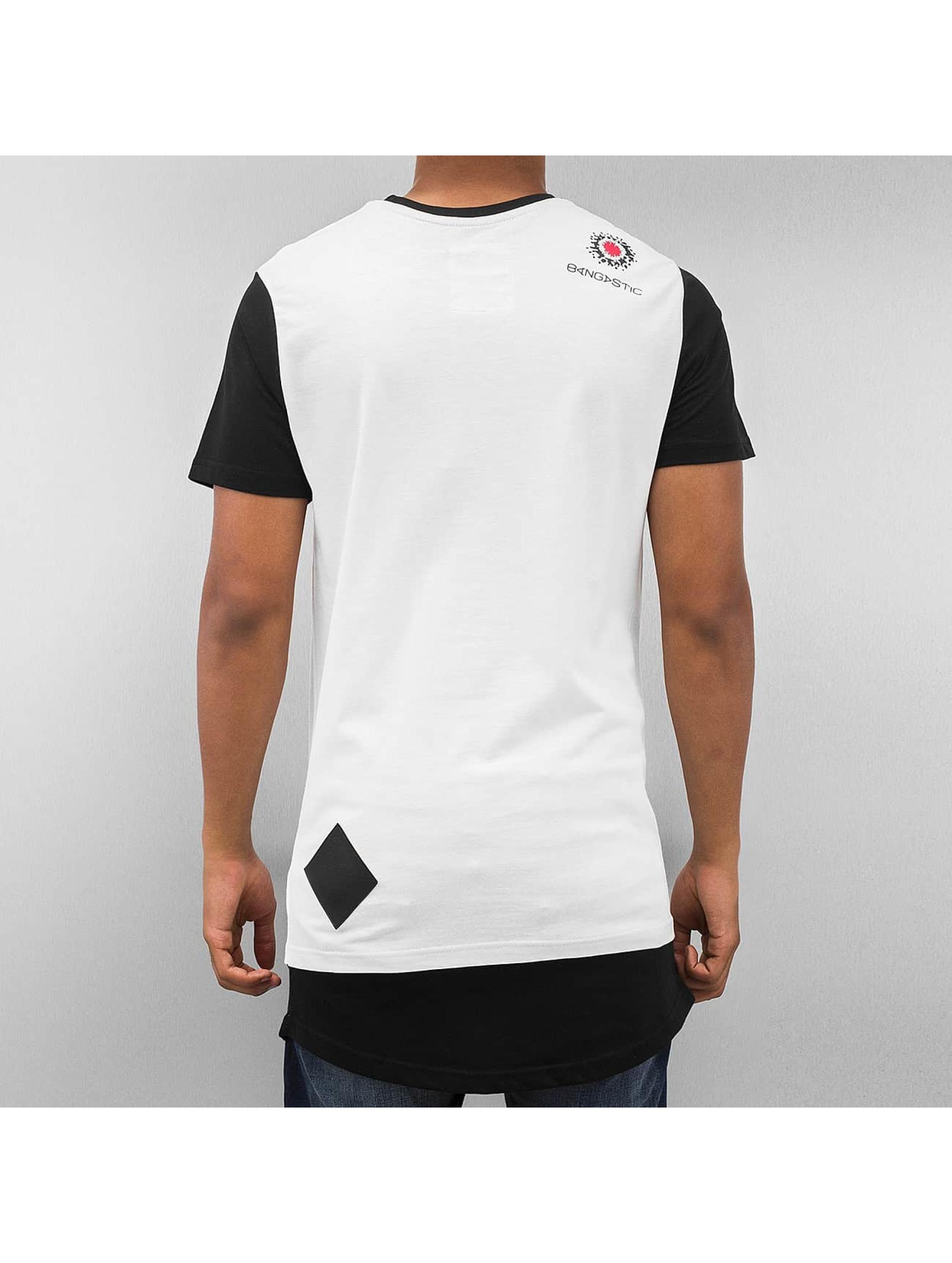 Bangastic t-shirt Plaid wit