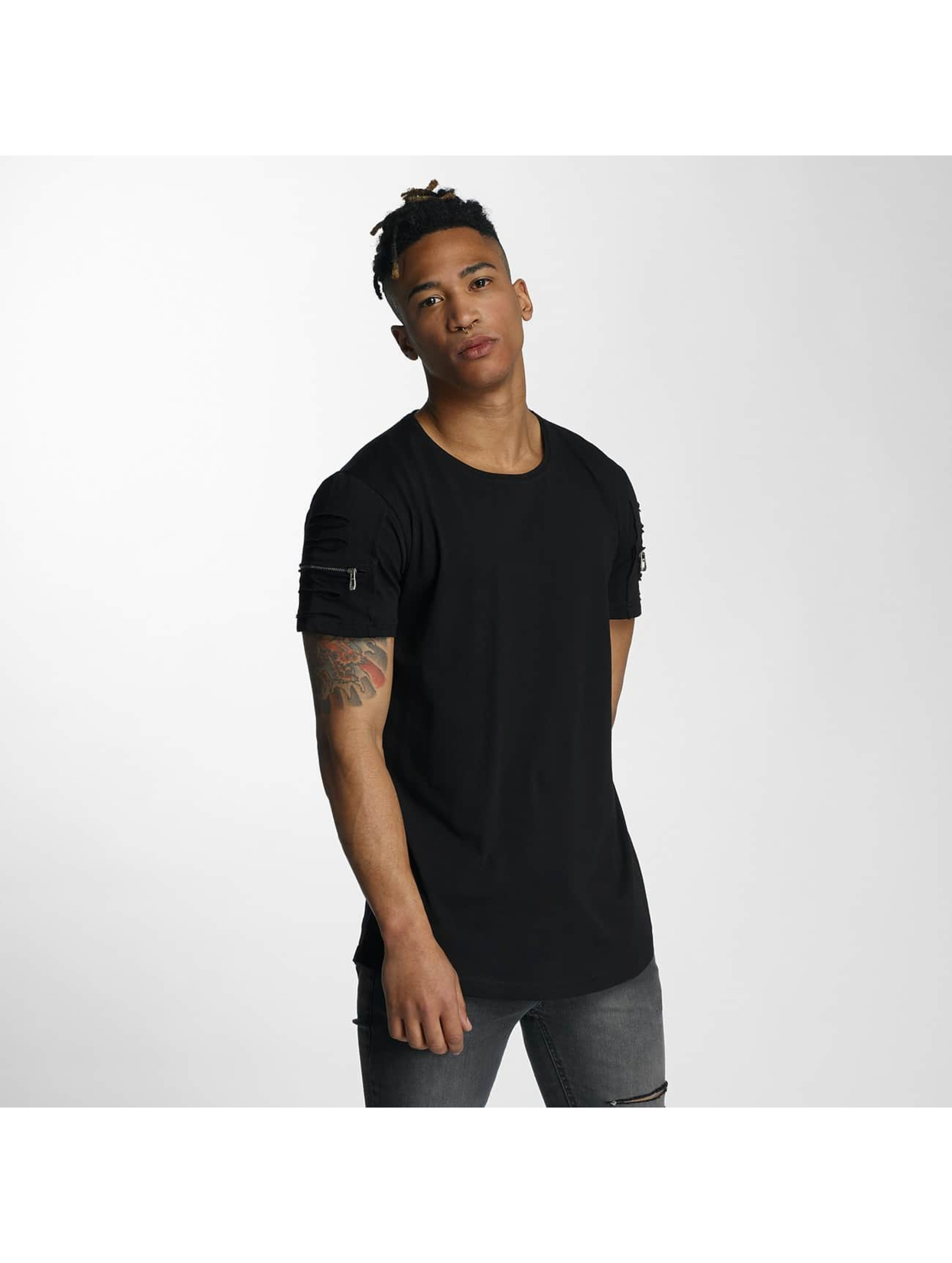 Bangastic T-Shirty Zip czarny