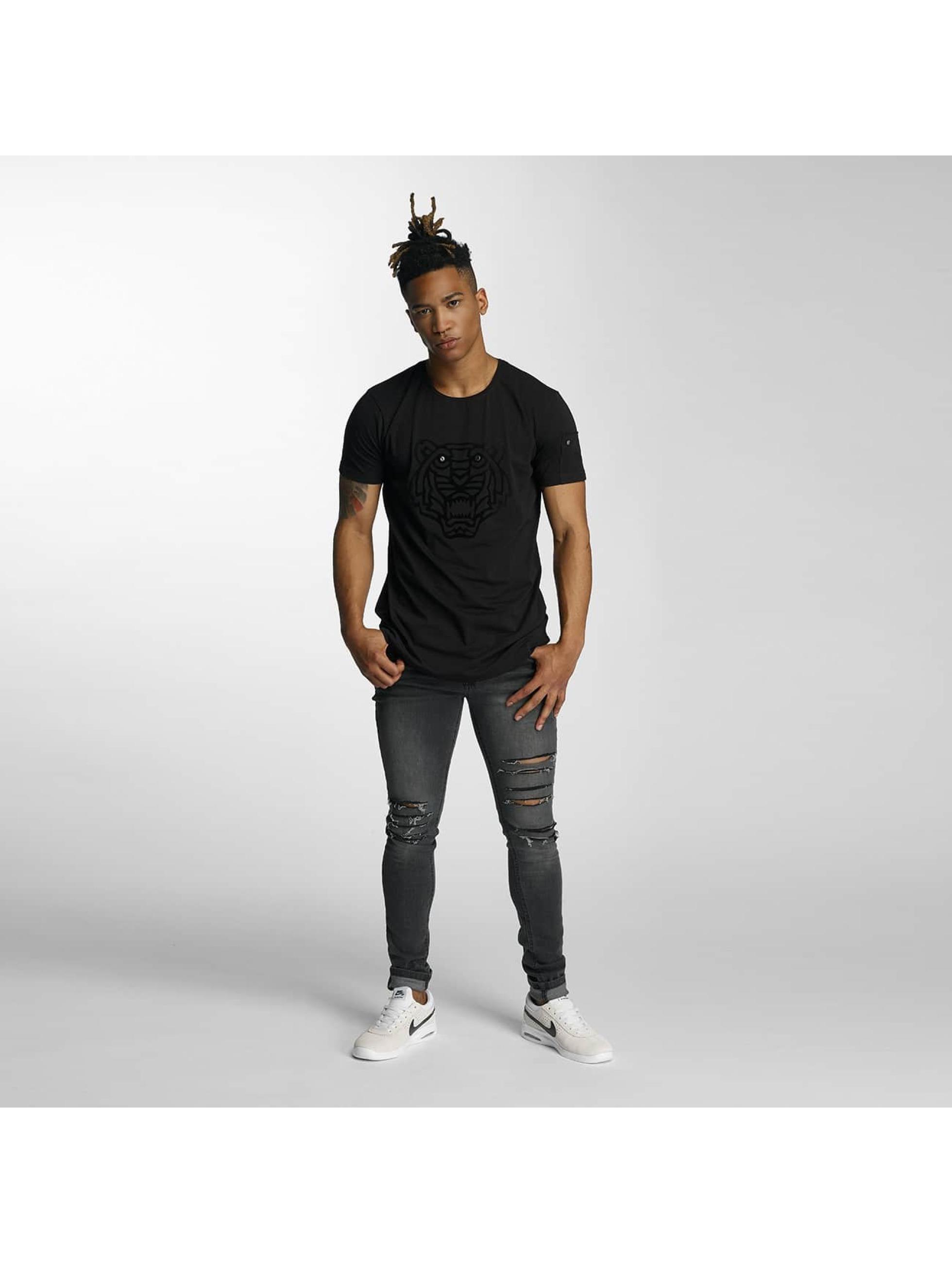 Bangastic T-Shirty Tiger czarny