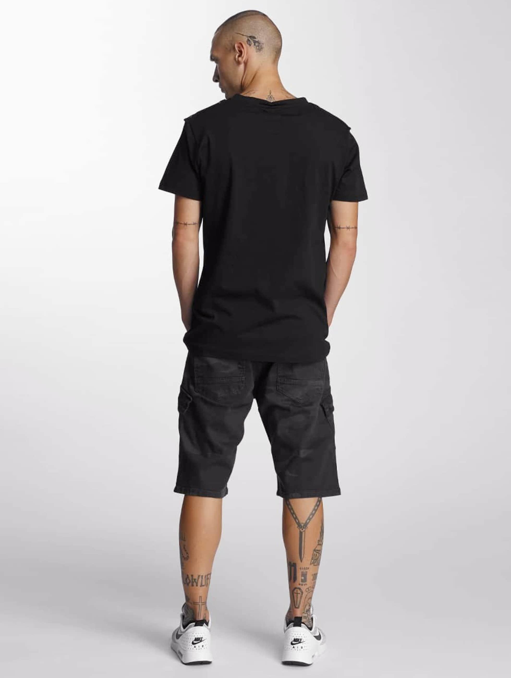Bangastic T-Shirty V-Neck czarny