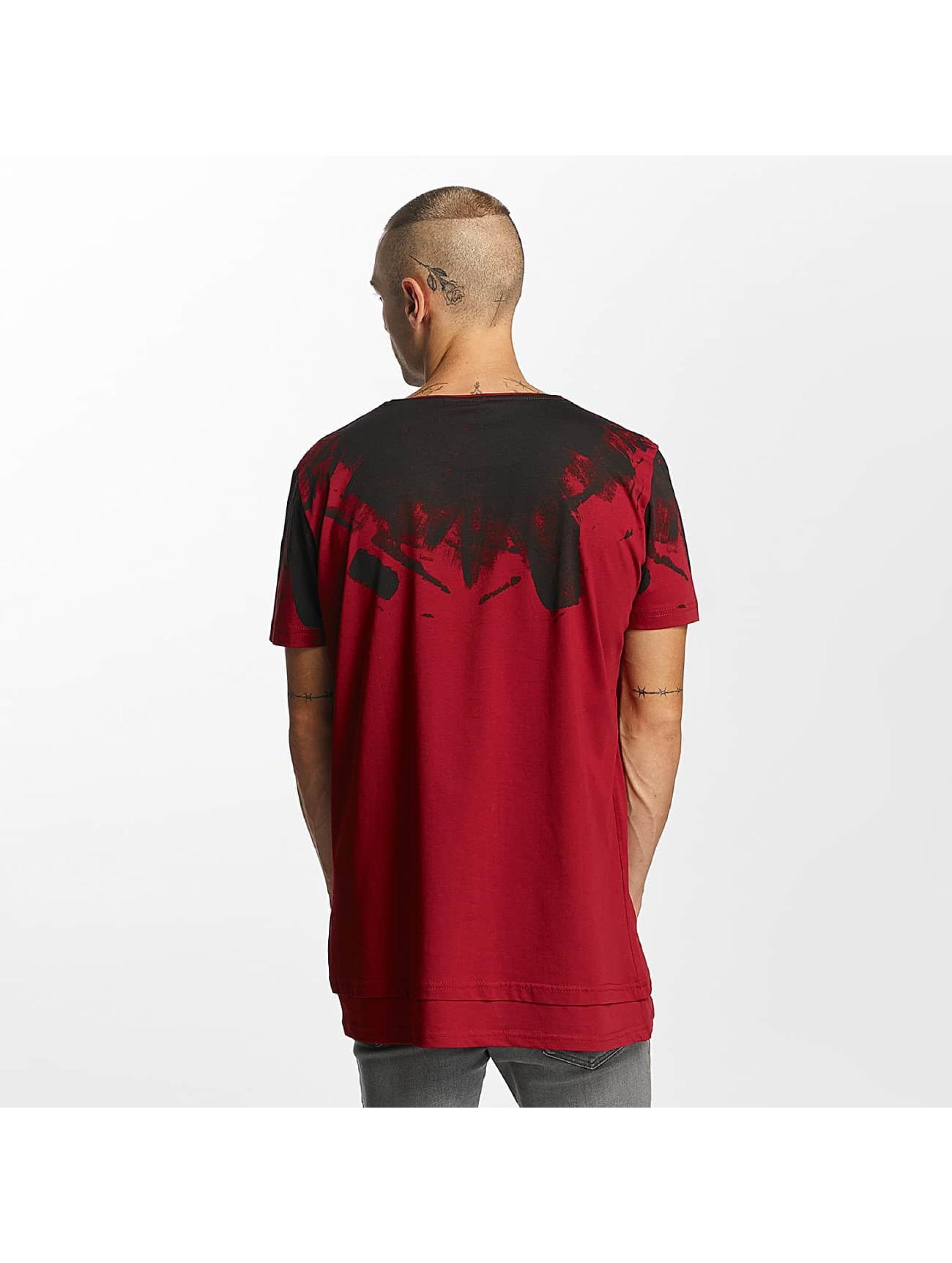 Bangastic T-Shirty Splash czerwony