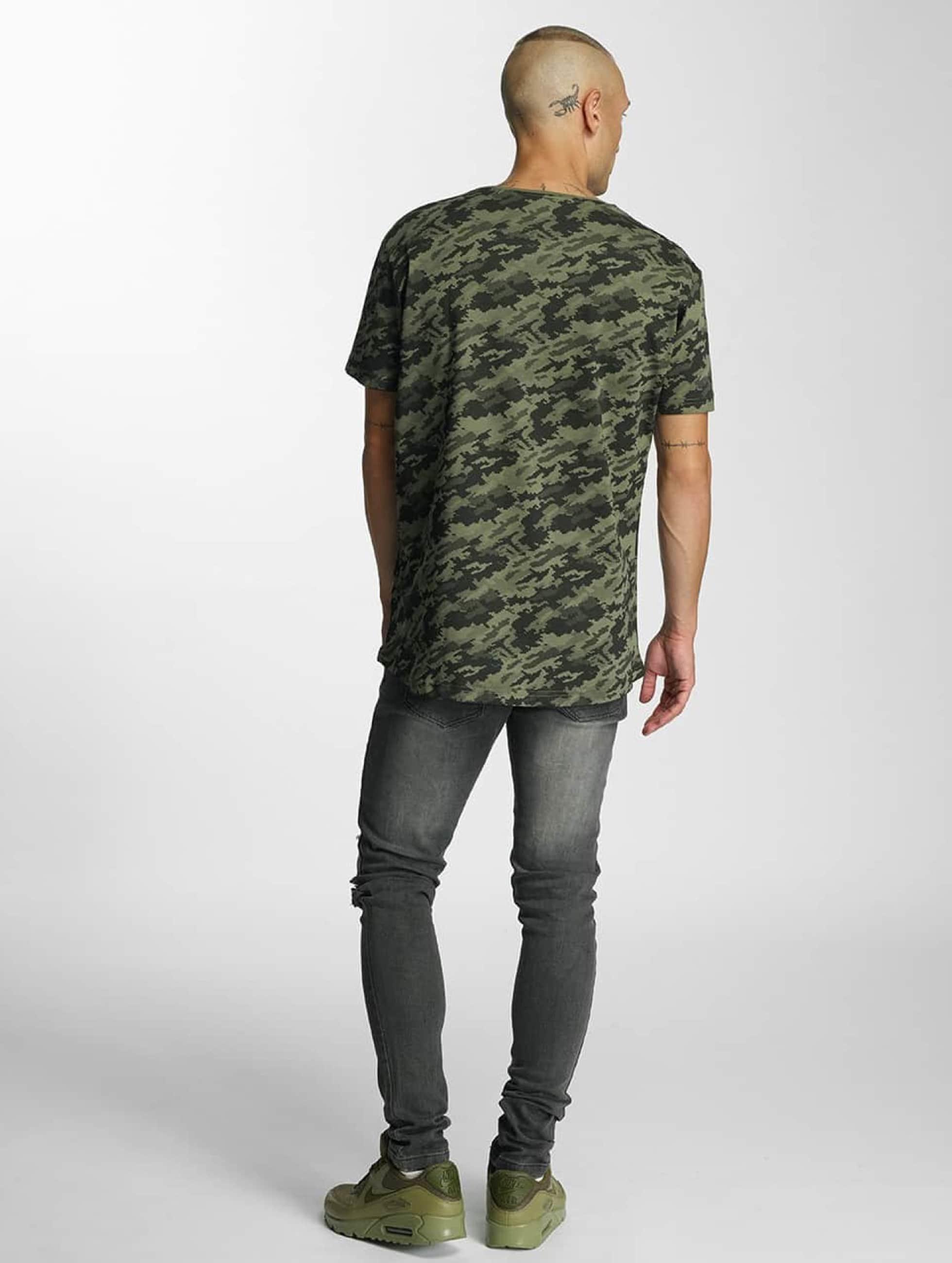 Bangastic T-Shirty Camo oliwkowy