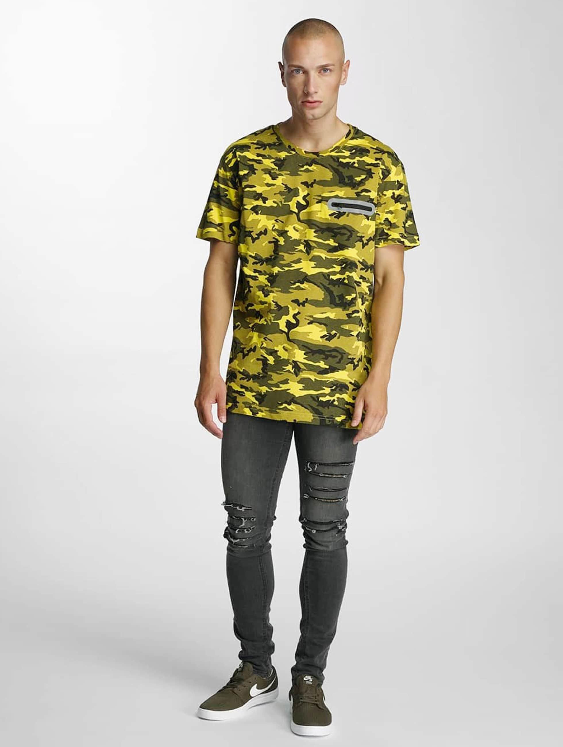 Bangastic T-Shirty Pocket zólty