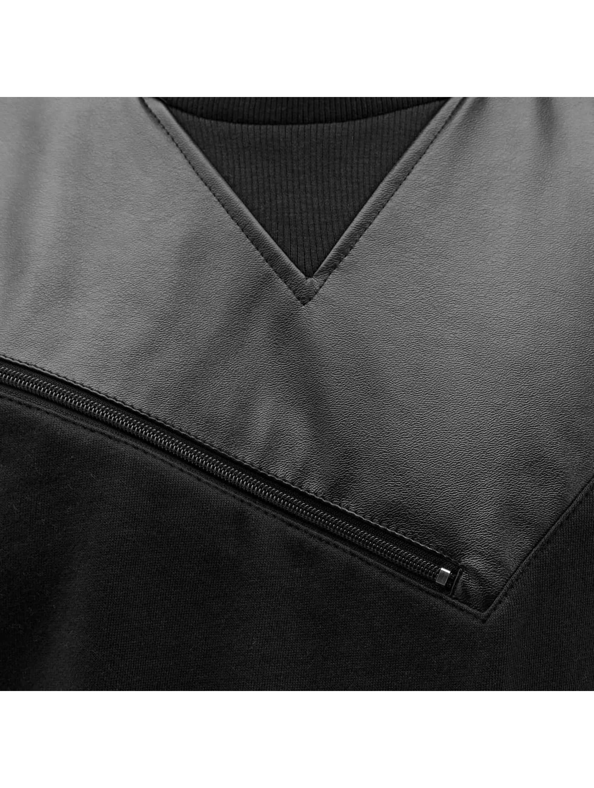 Bangastic trui PU zwart