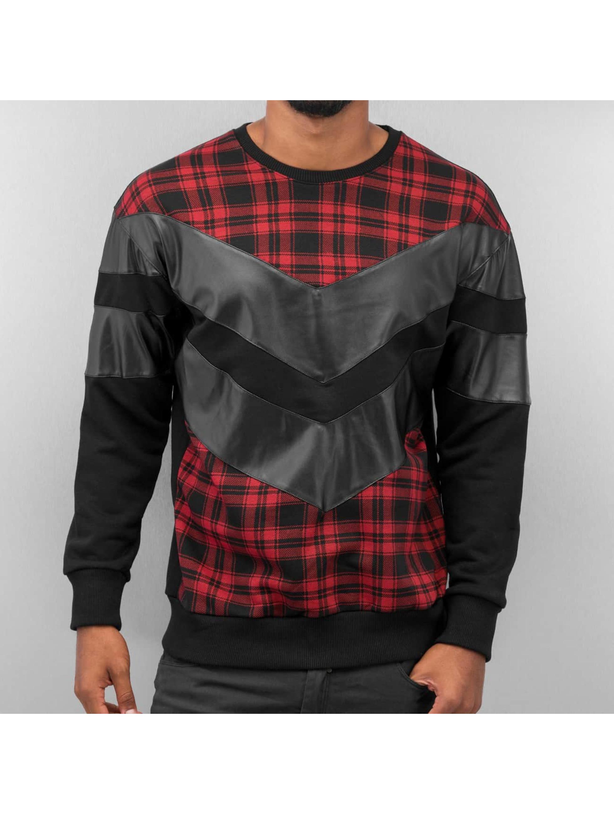 Bangastic trui Plaid zwart